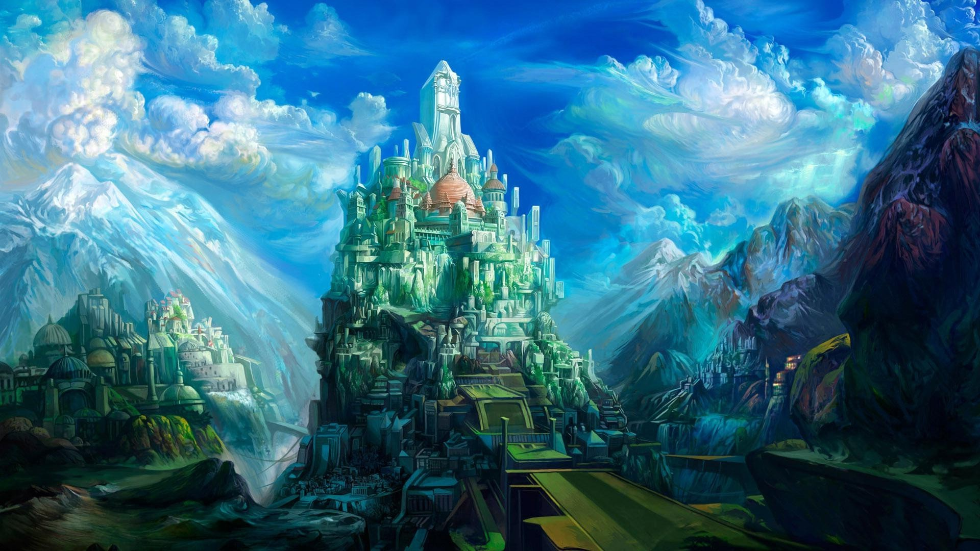 Сказочные дворцы обои на рабочий стол
