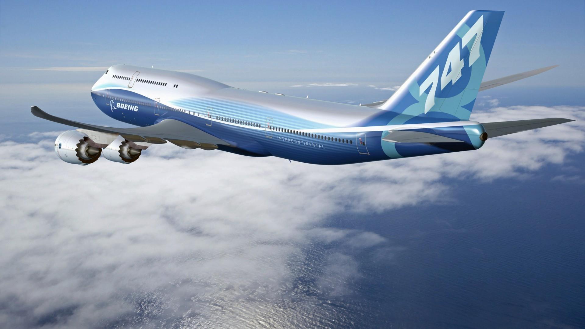 Обои boeing 747. Авиация foto 14