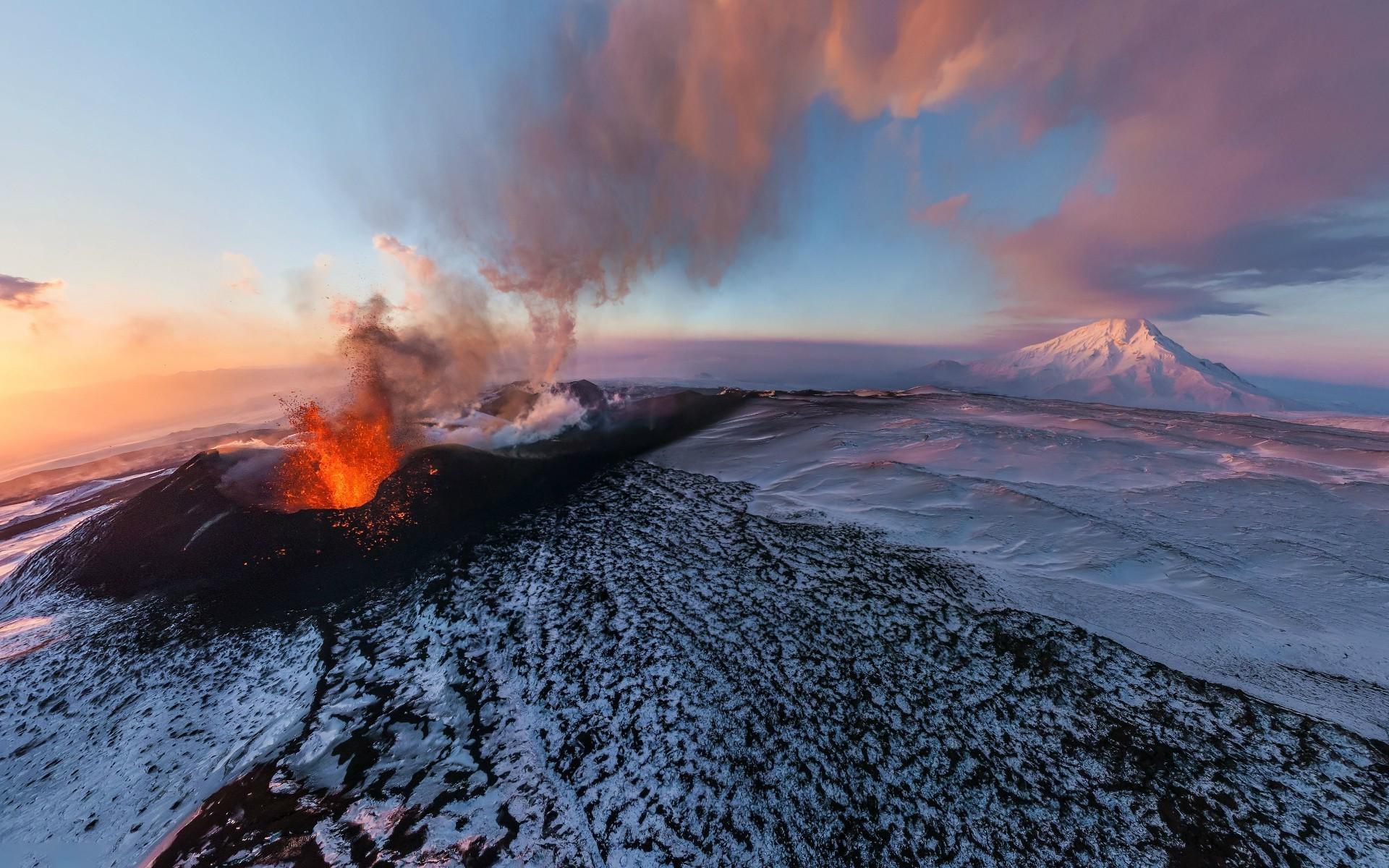 вулканы россии видео смотреть