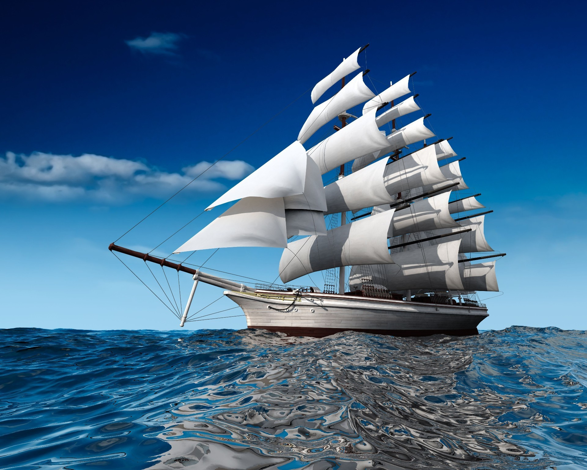 паруса фотка море