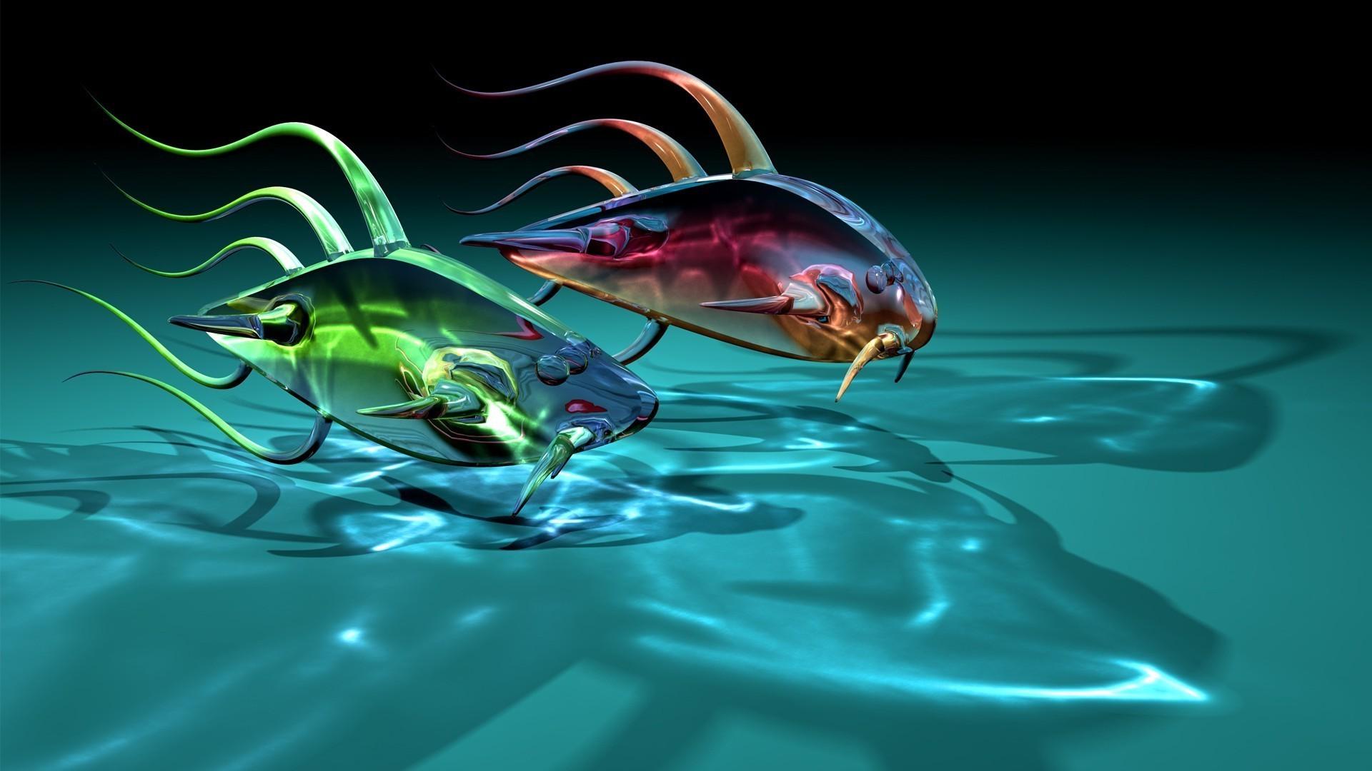 Андроид обои рыбки на рабочий стол