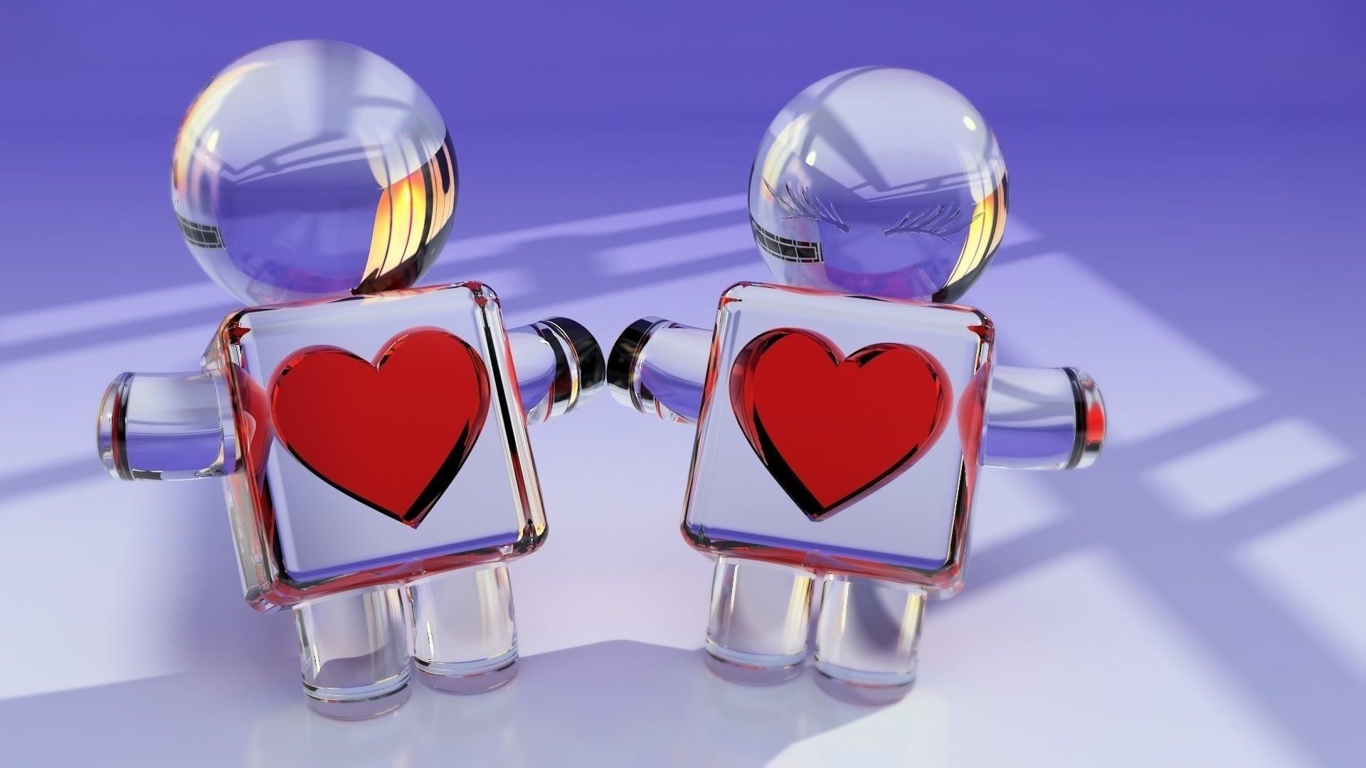 3д обои для рабочего стола любовь № 562634  скачать
