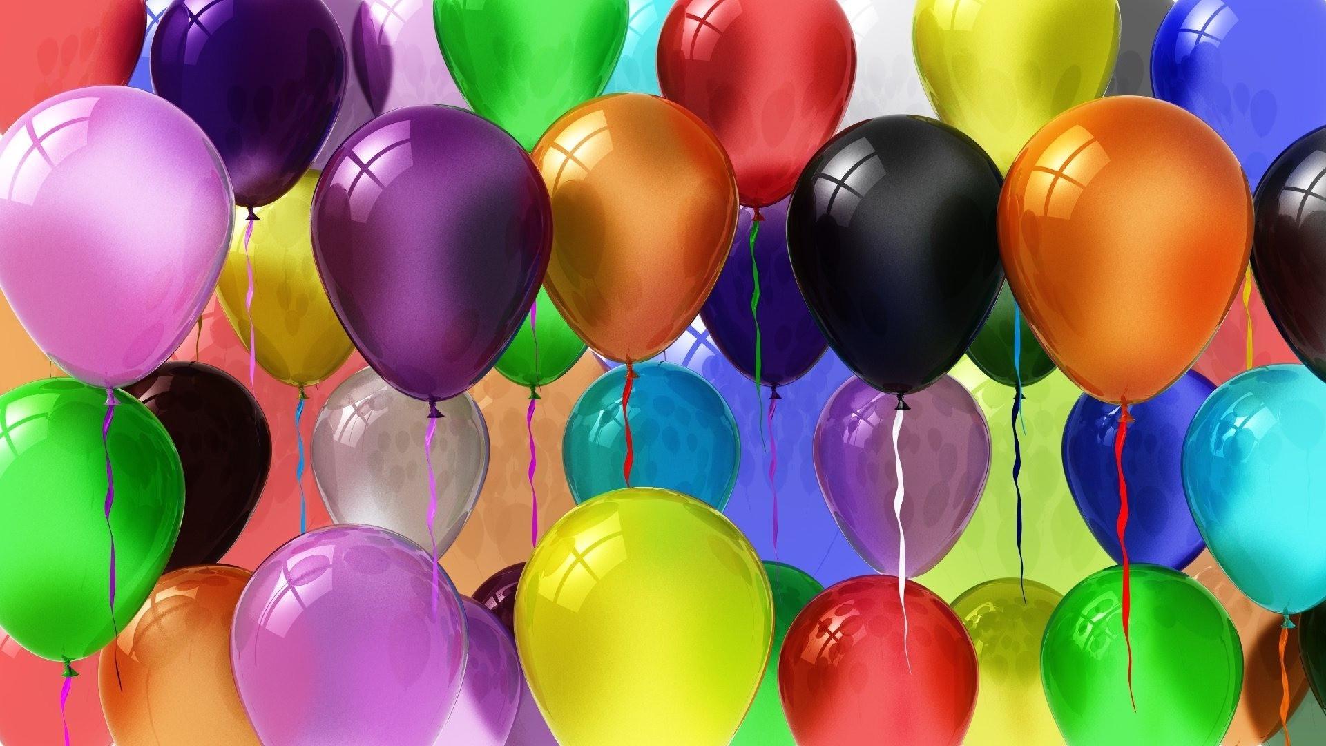 Поздравительные открытки с воздушными шарами, открытки