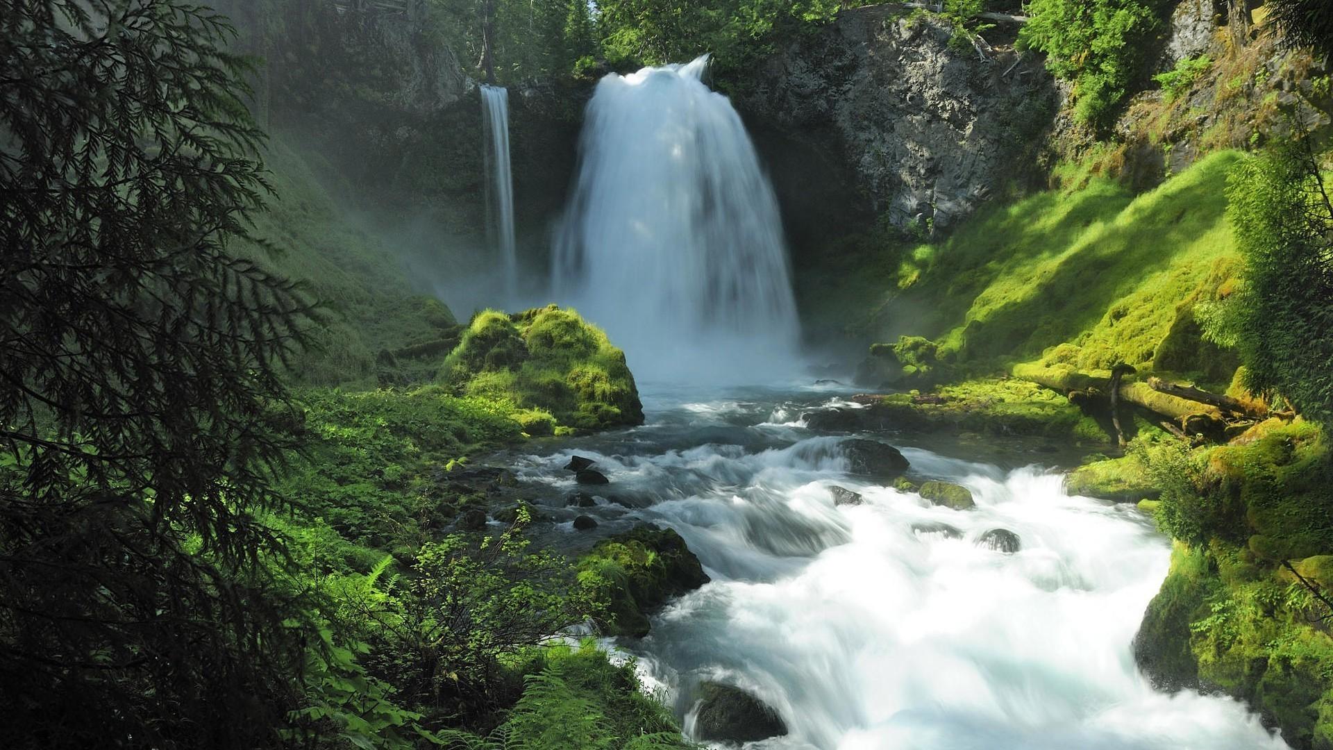 Обои красиво, Горная река. Природа foto 17