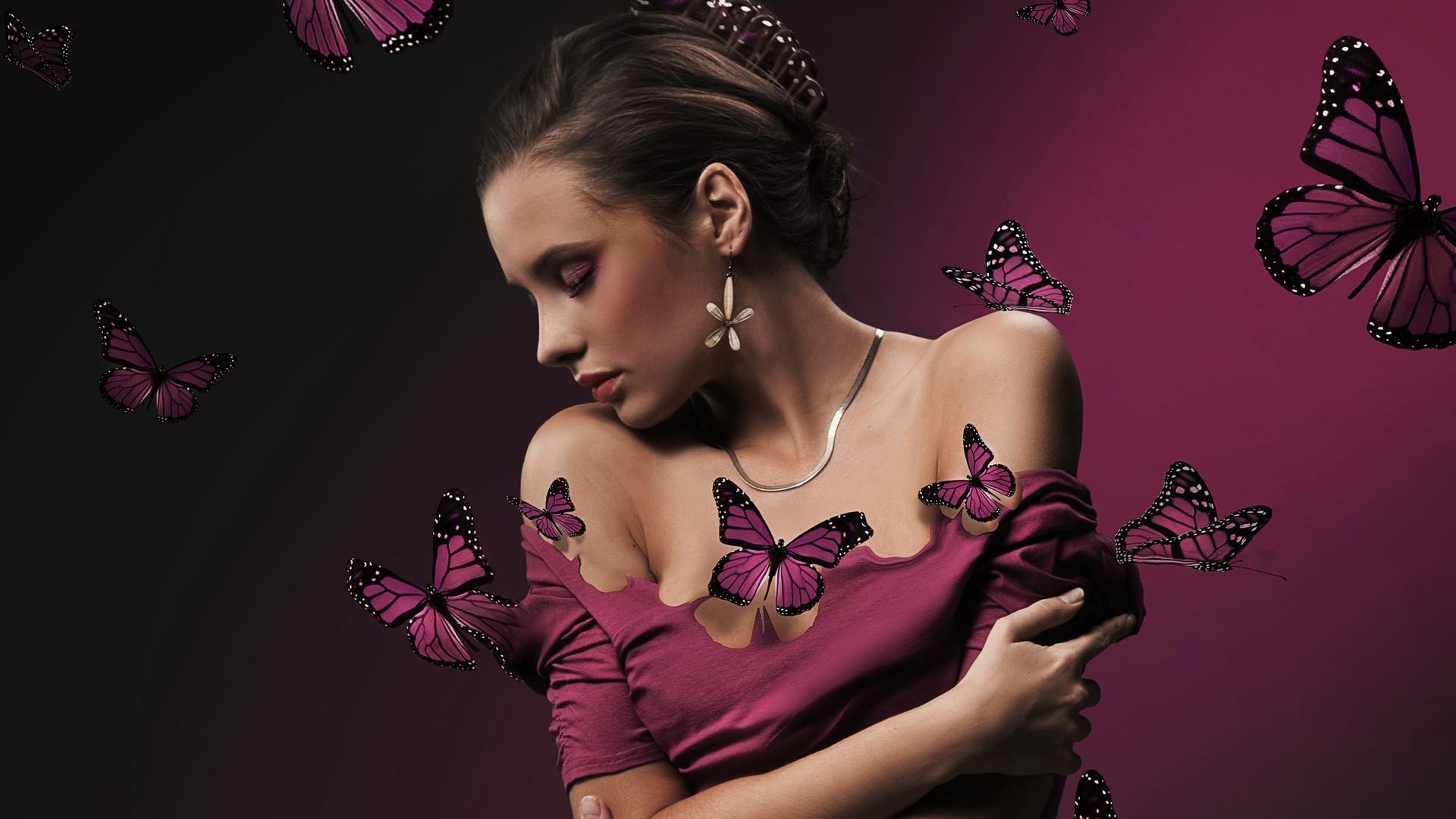 Glamour flower girls pics