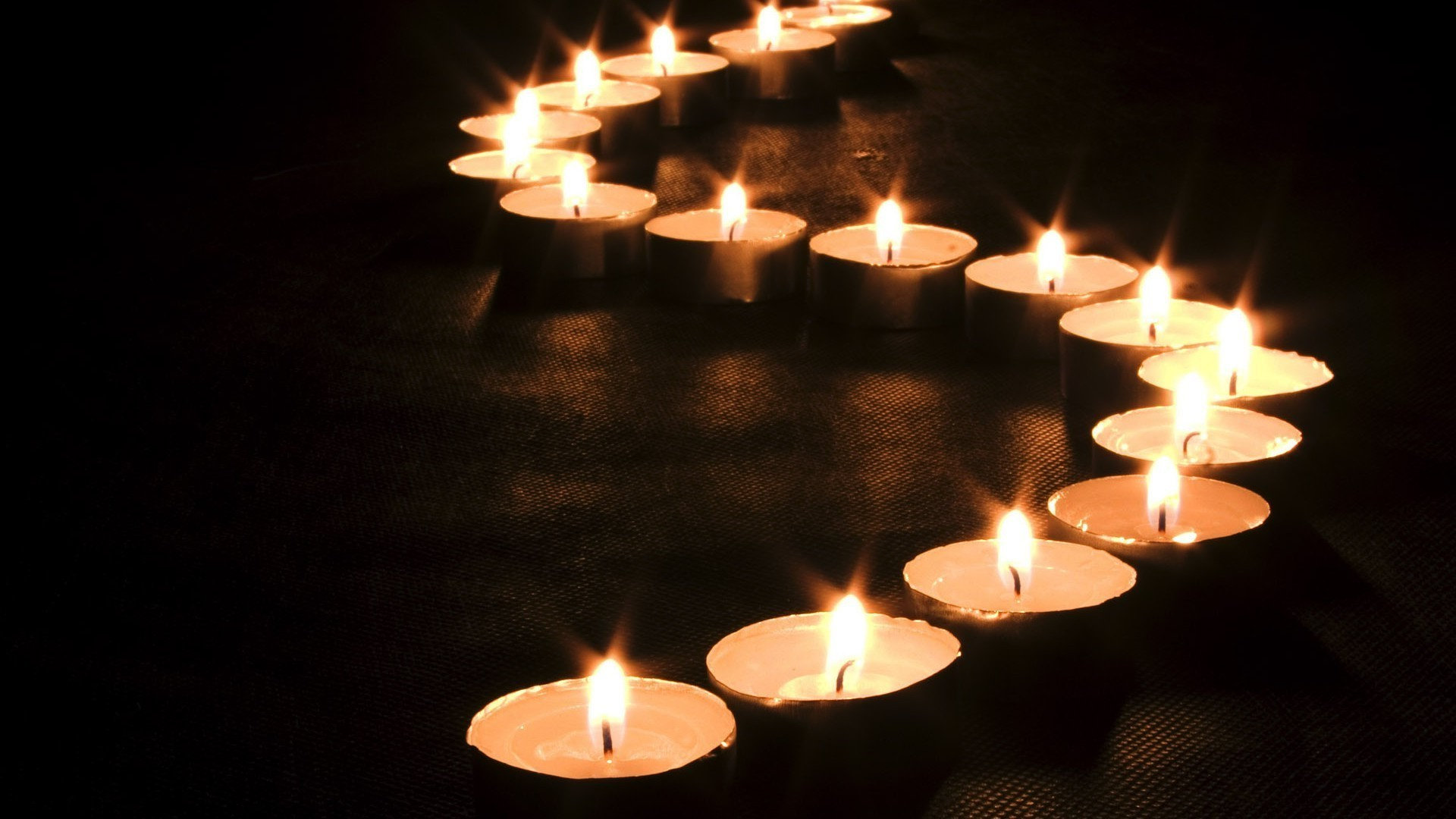 Самодельных открыток, картинка со свечами