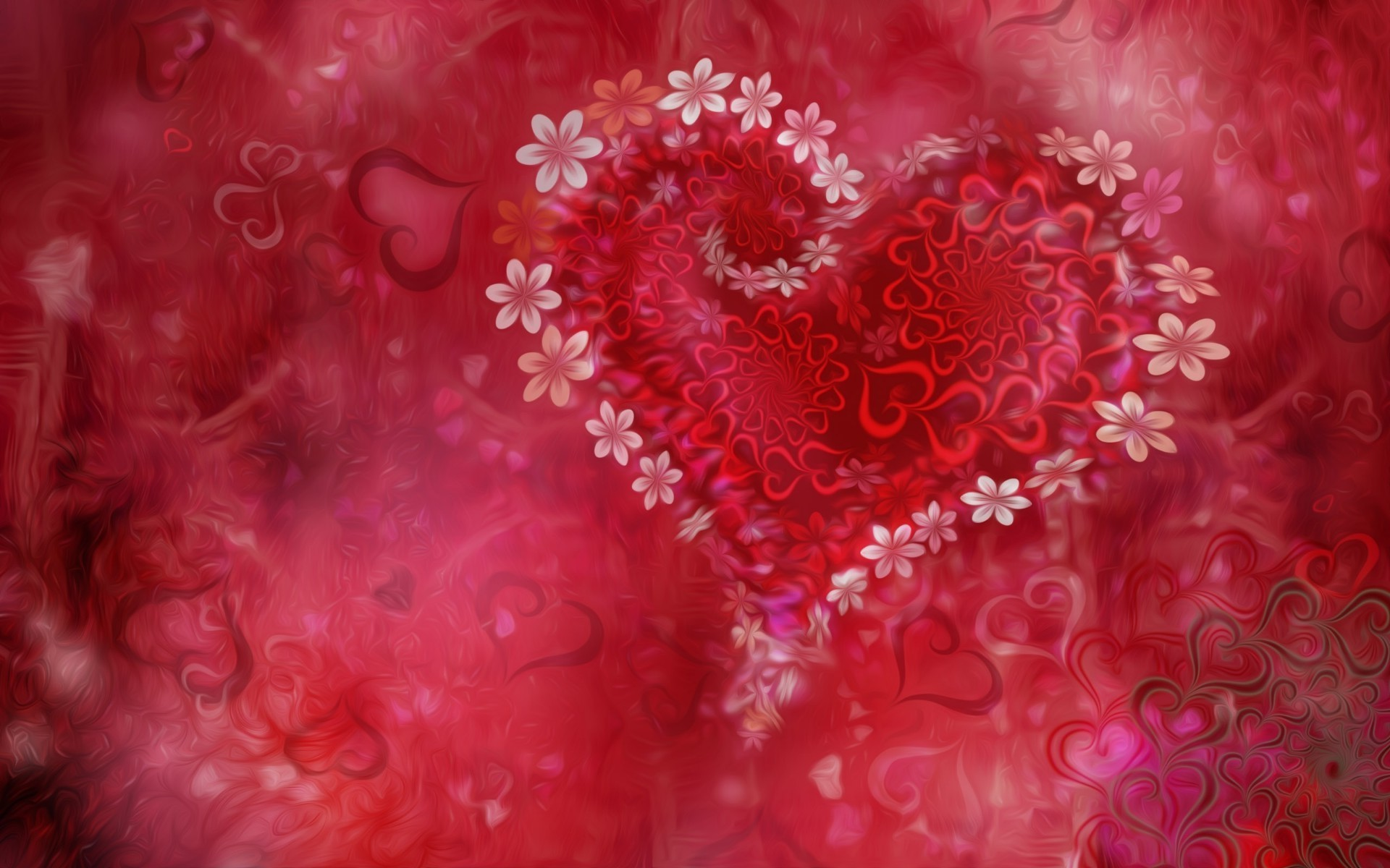 сердечки узор скачать