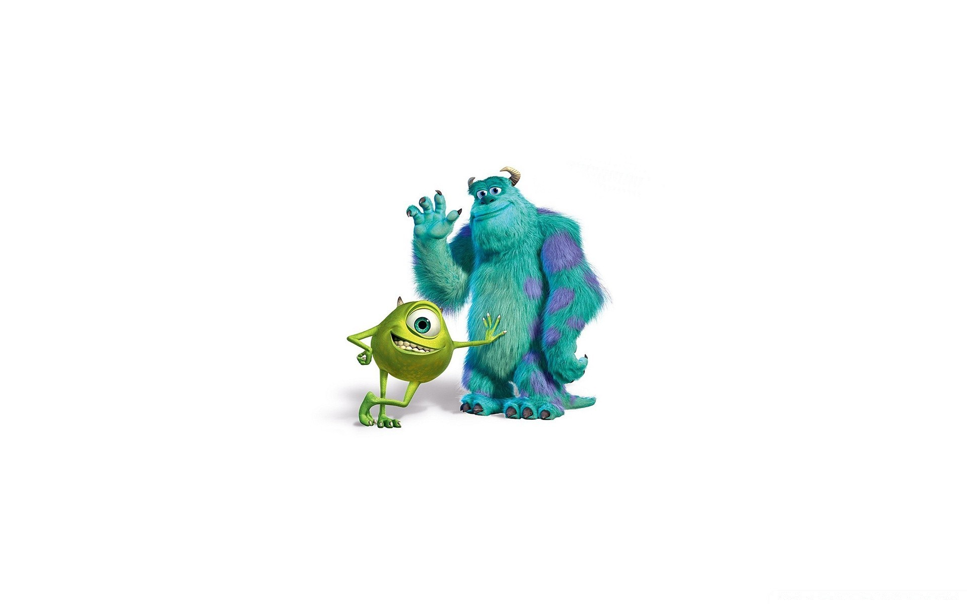 Monsters Inc Салли и Майк