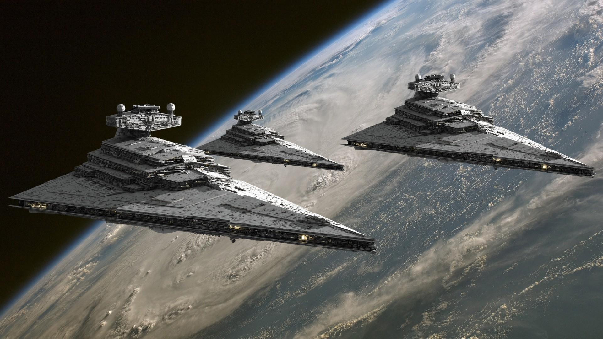 Обои для рабочего стола космический корабль
