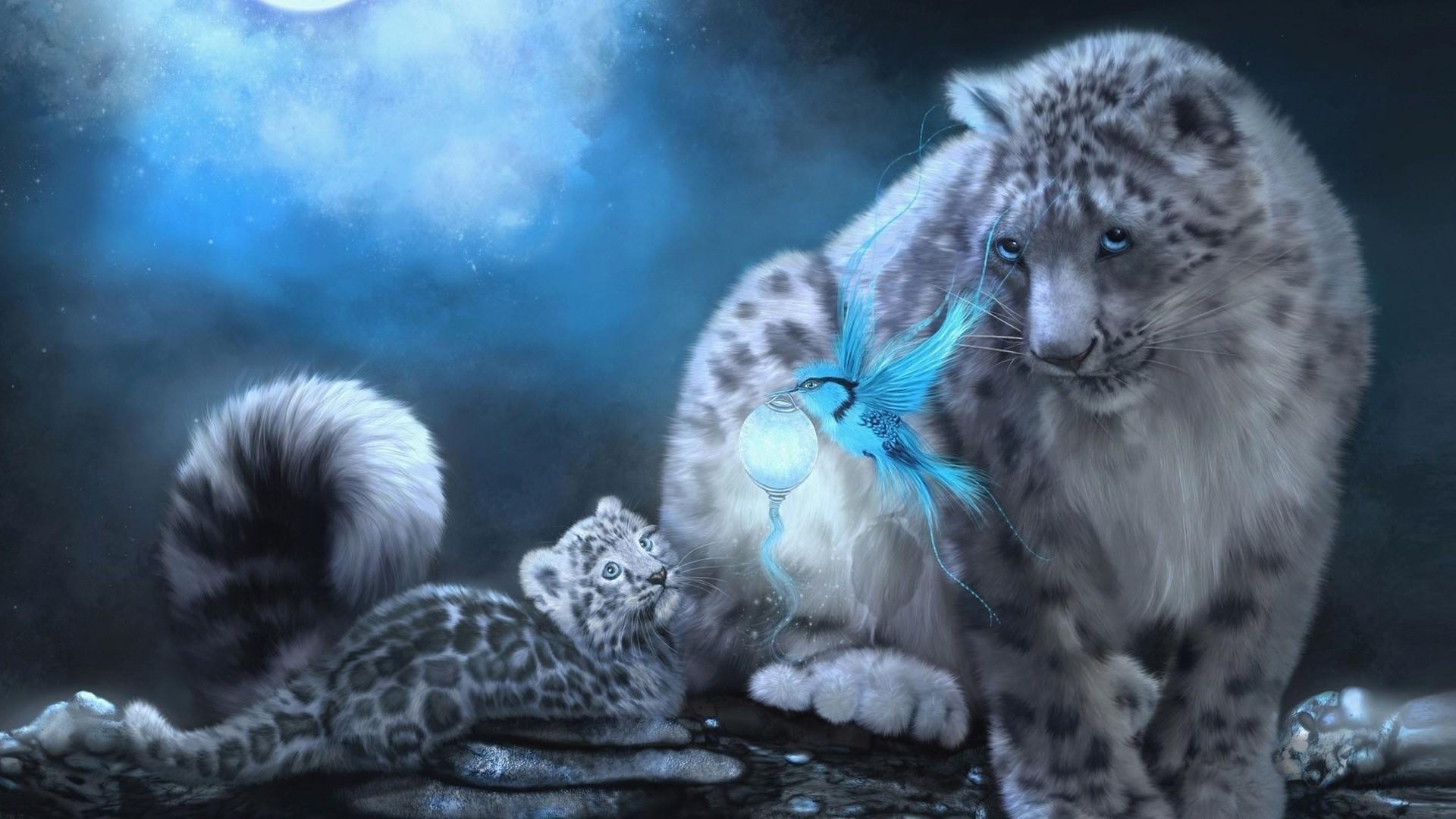Статусы фэнтези гифы природа звери