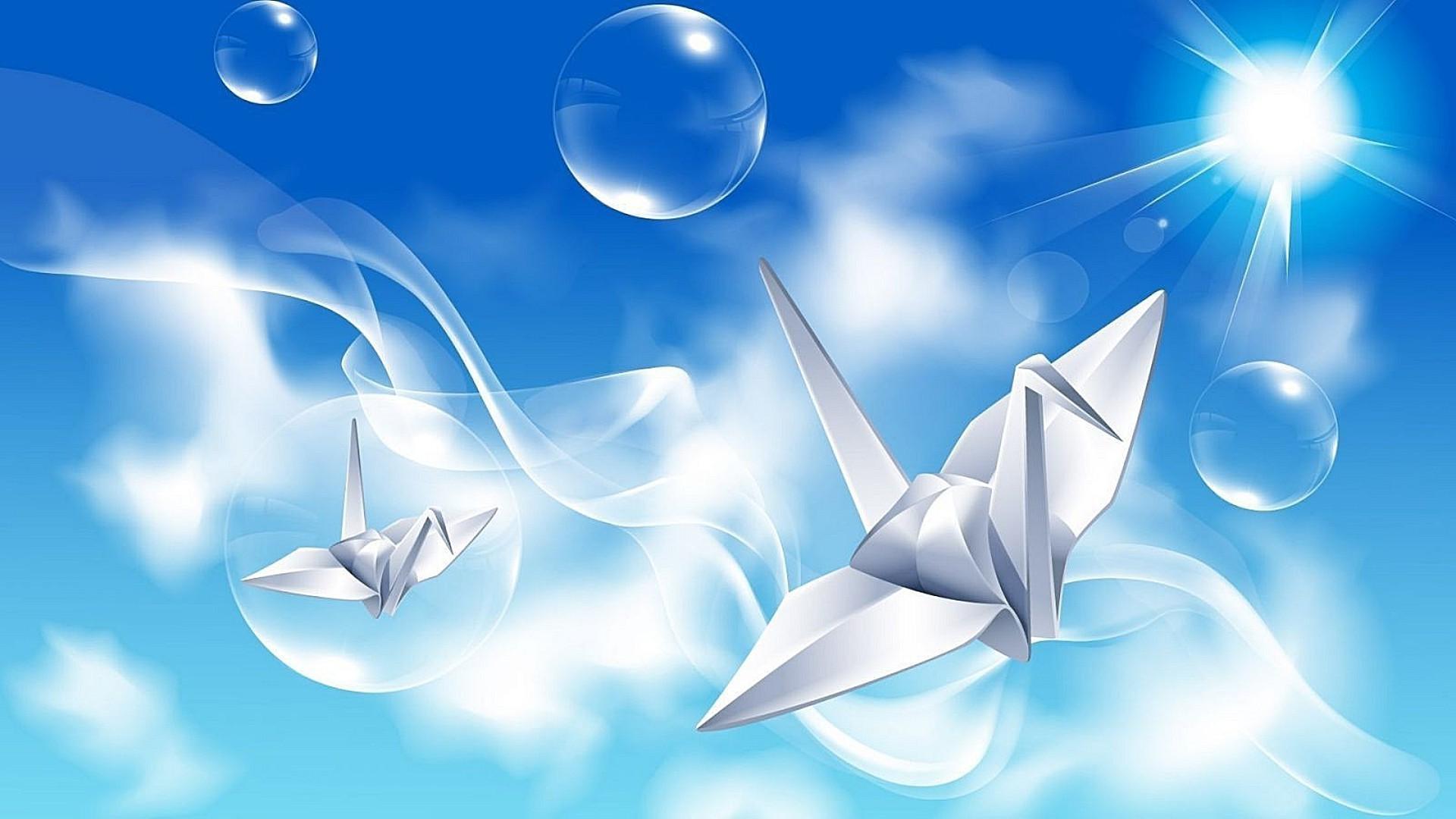 Открытки, оригами журавлик открытка