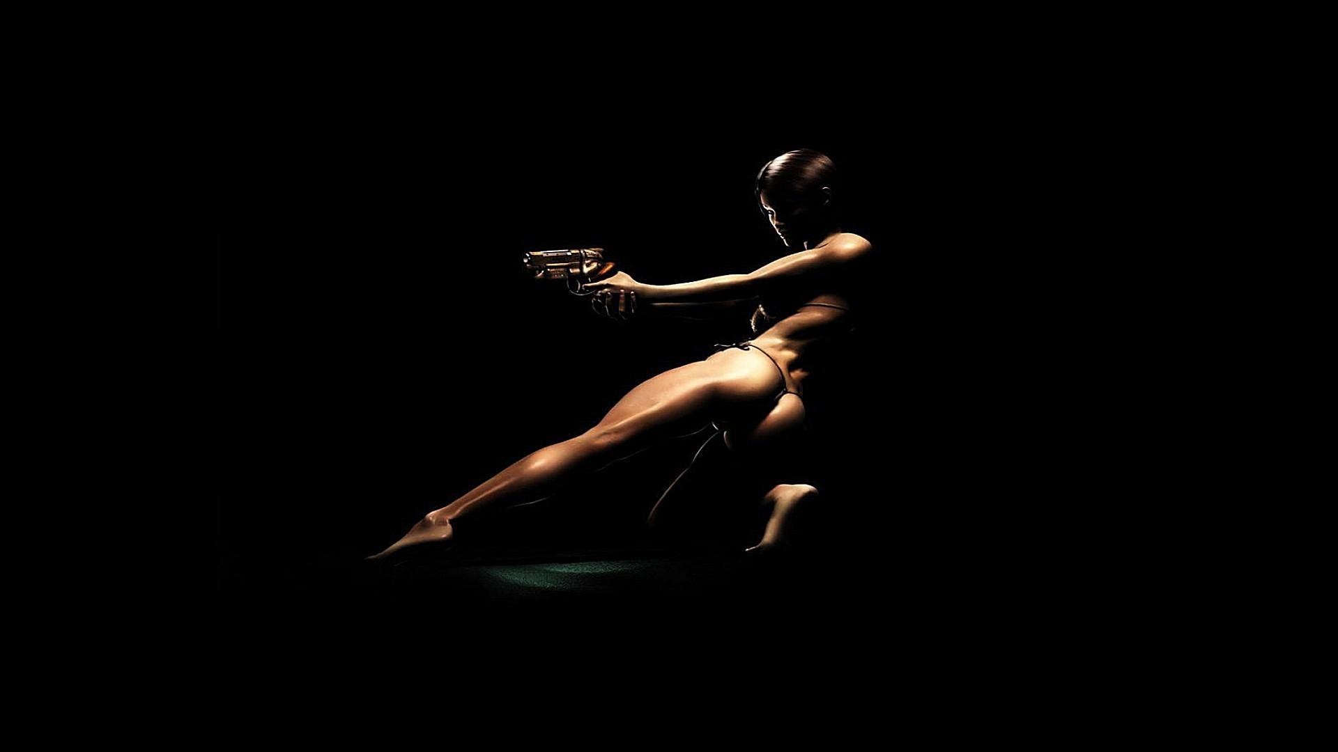 Black girls nude wallpaper — photo 10
