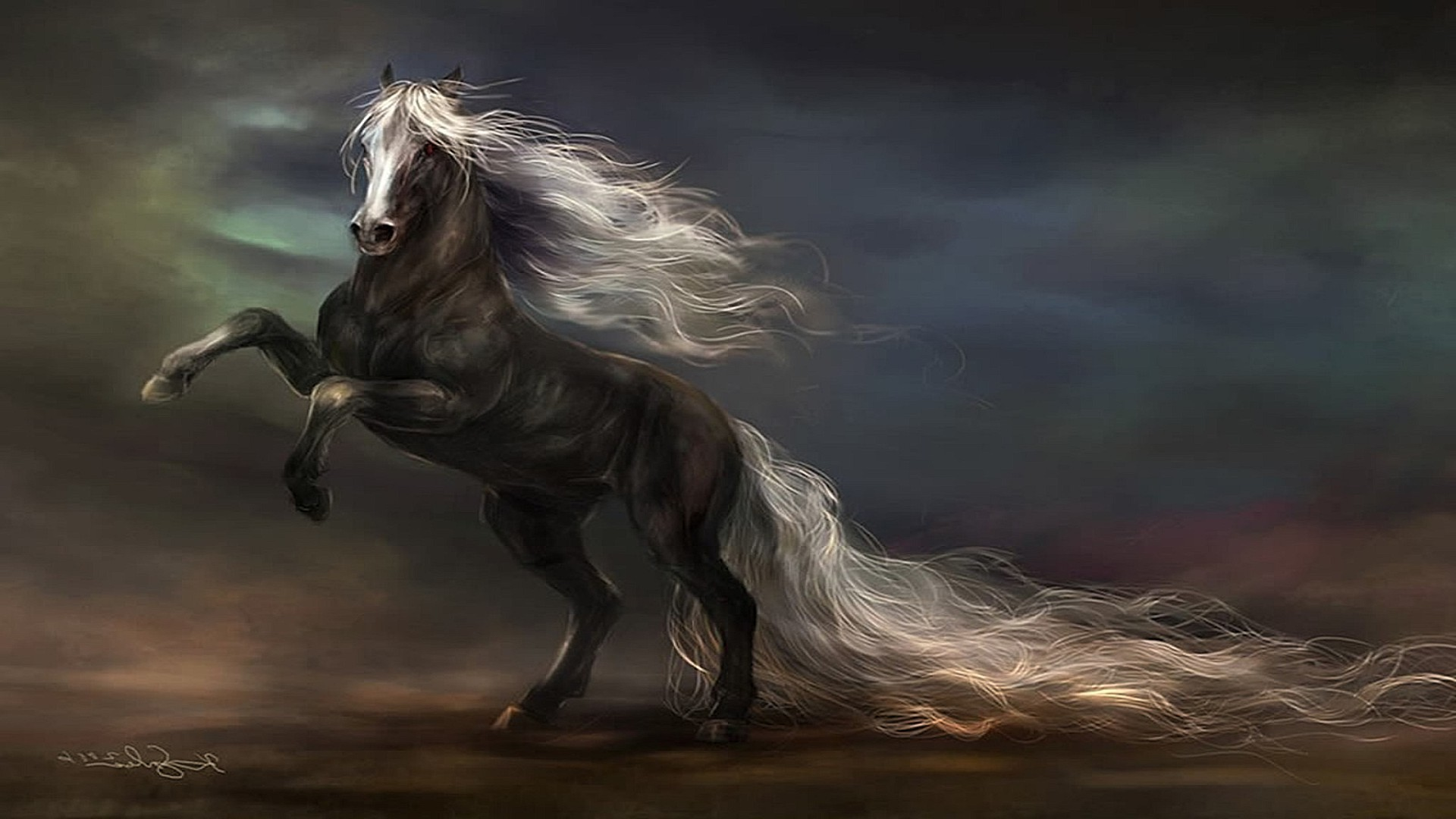 лошади обои на рабочий стол 1280х1024 № 489505  скачать
