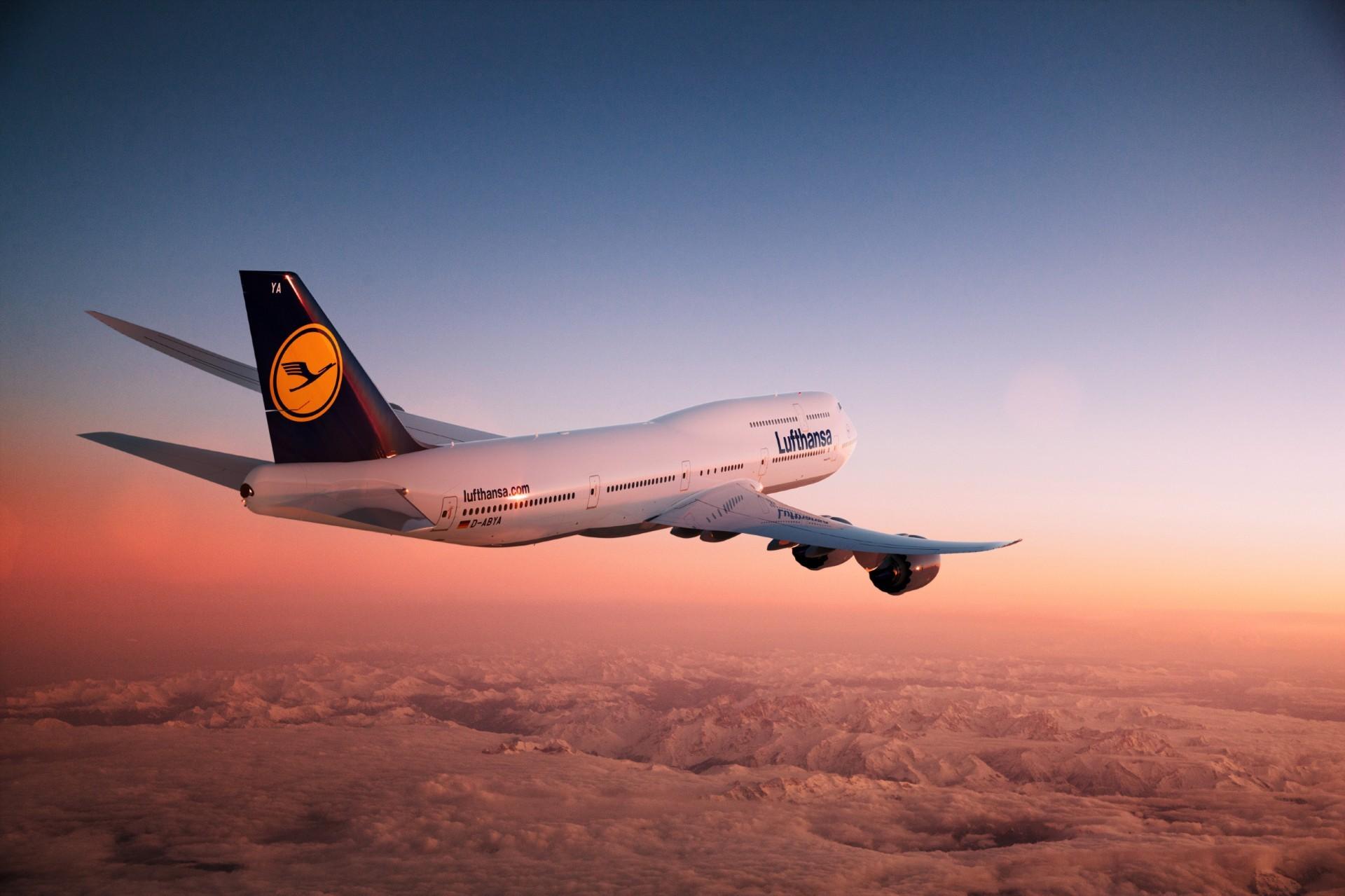 Обои Lufthansa. Авиация foto 15