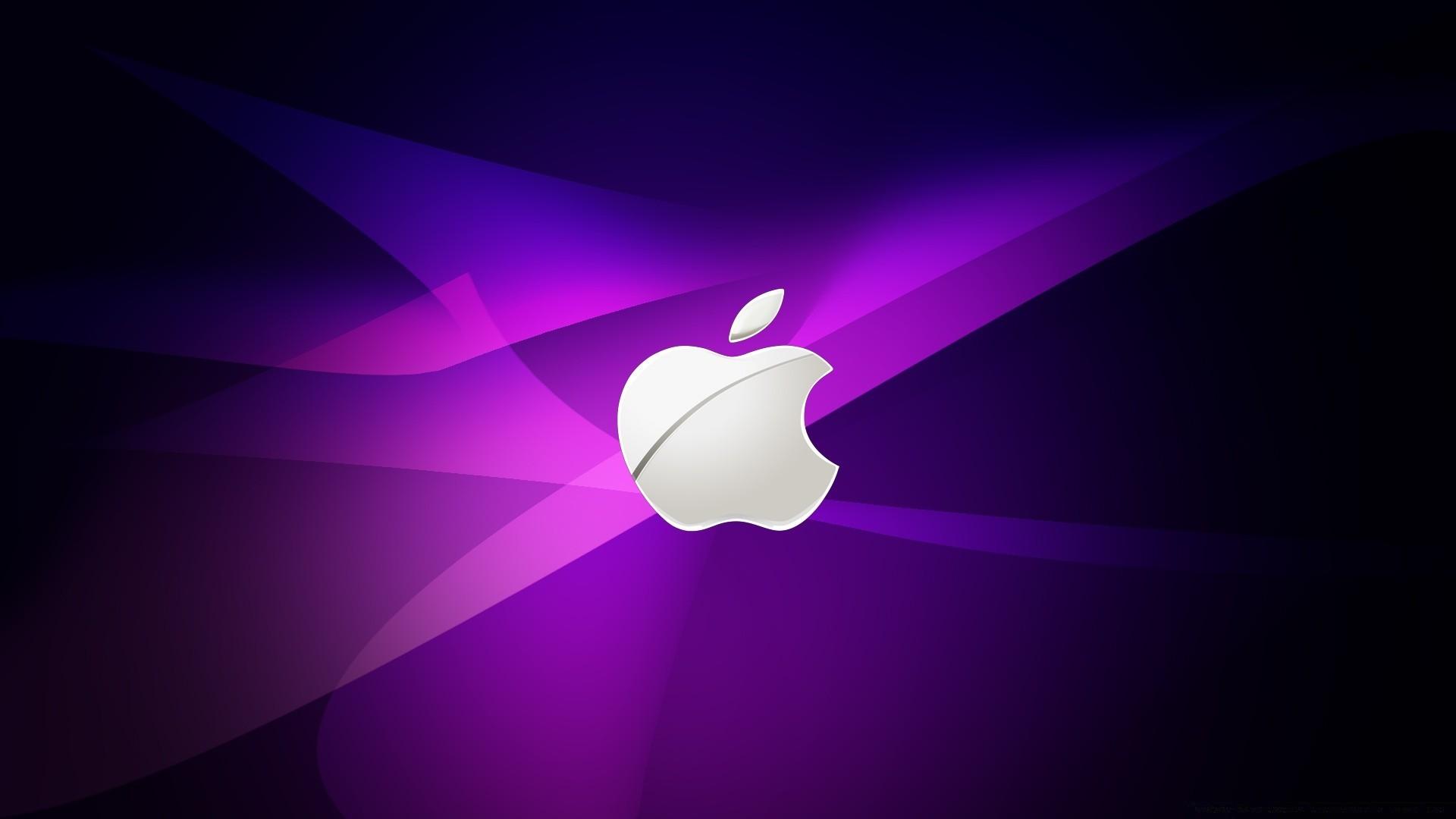 1920x1200 apple purple blue wallpaper