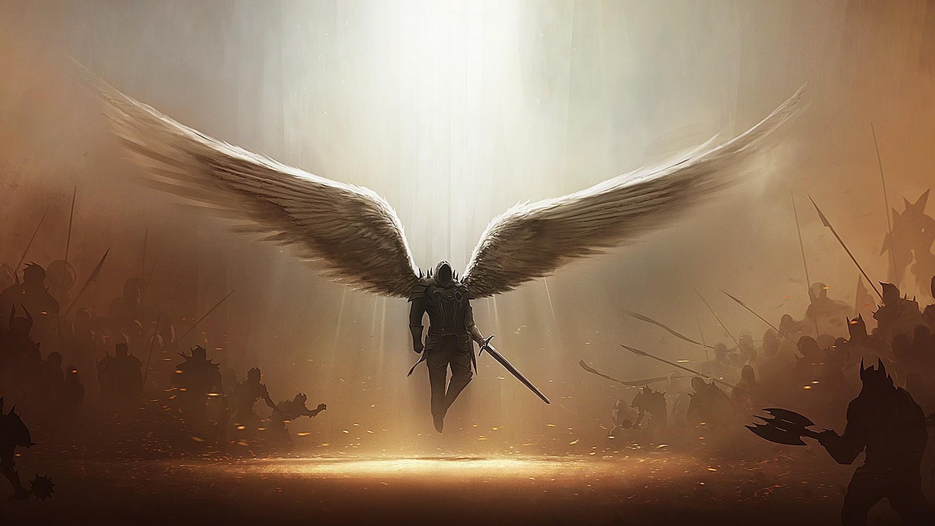 Картинки архангелов на рабочий стол