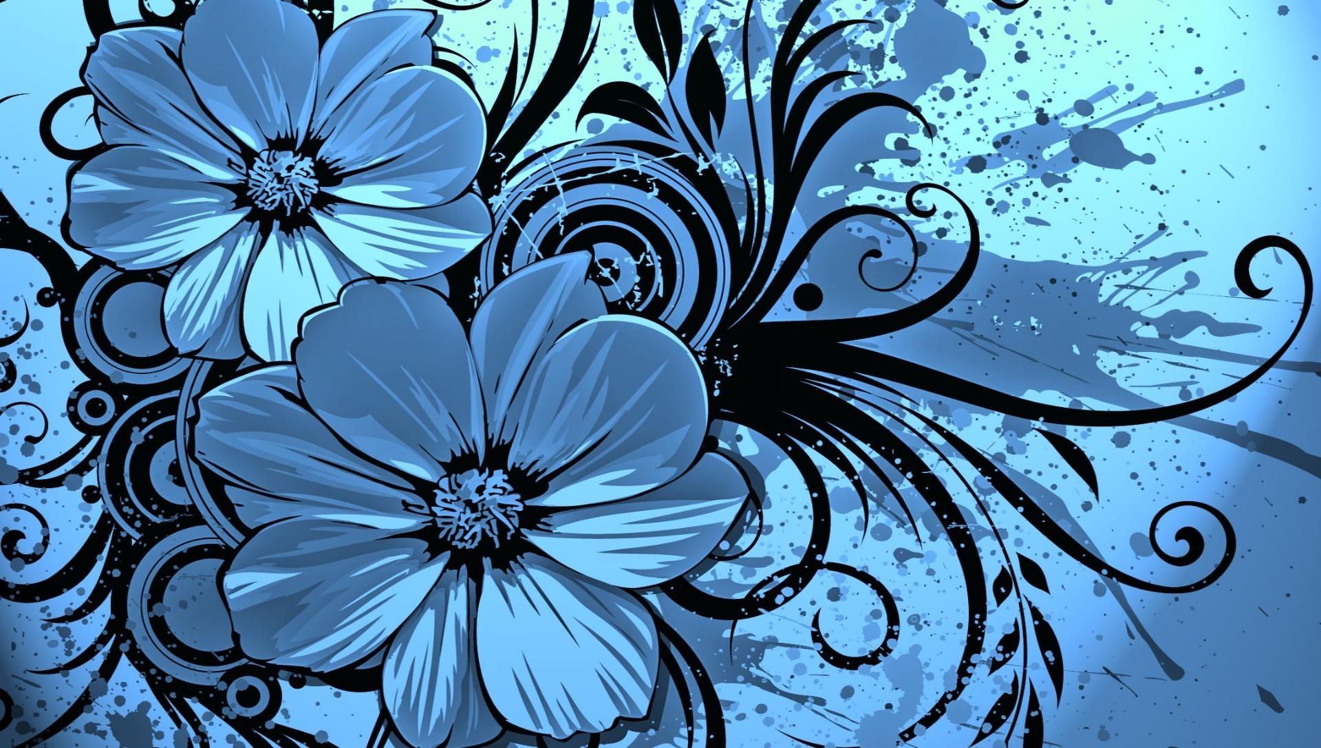 Красивые фото цветов нарисованные
