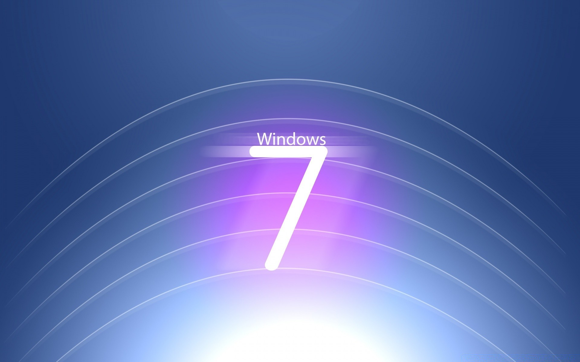 Привет-Tech Windows 7 логотип