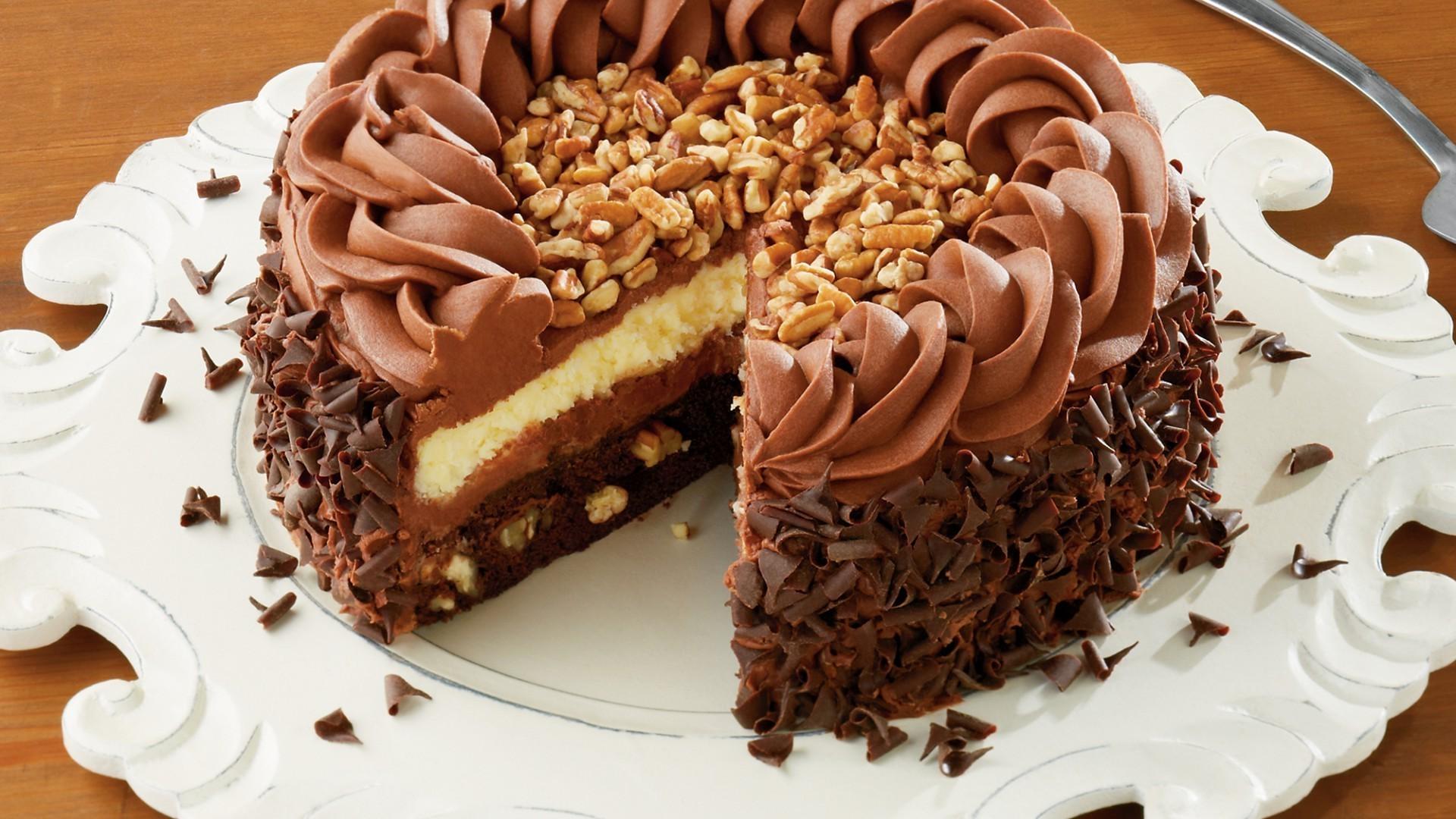Шоколадно-ореховый торт рецепт с фото