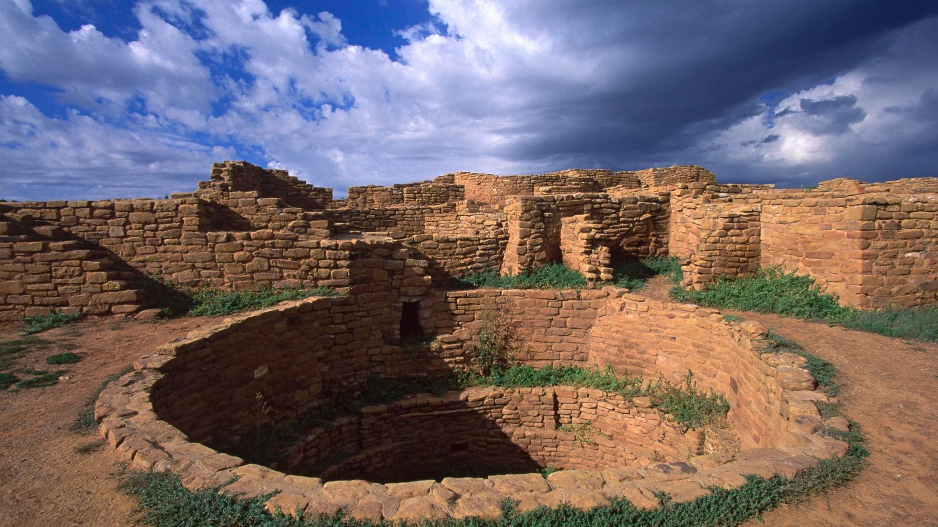 Скальный дворец Меса Верде жилище древних индейцев племен анасази