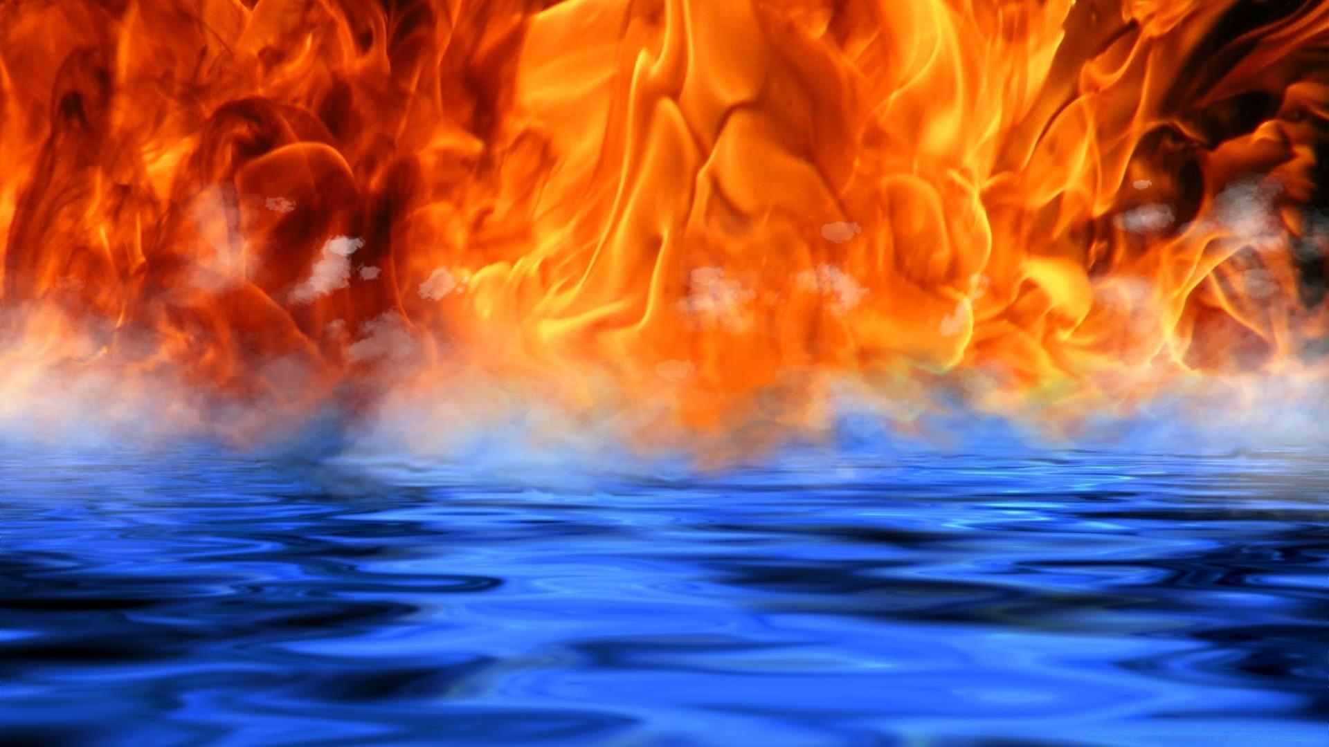 фото картинки обои огонь и вода считалась хранительницей