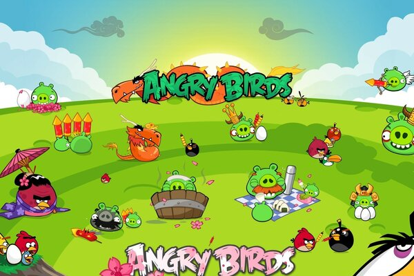 Angry Birds Seasons партия