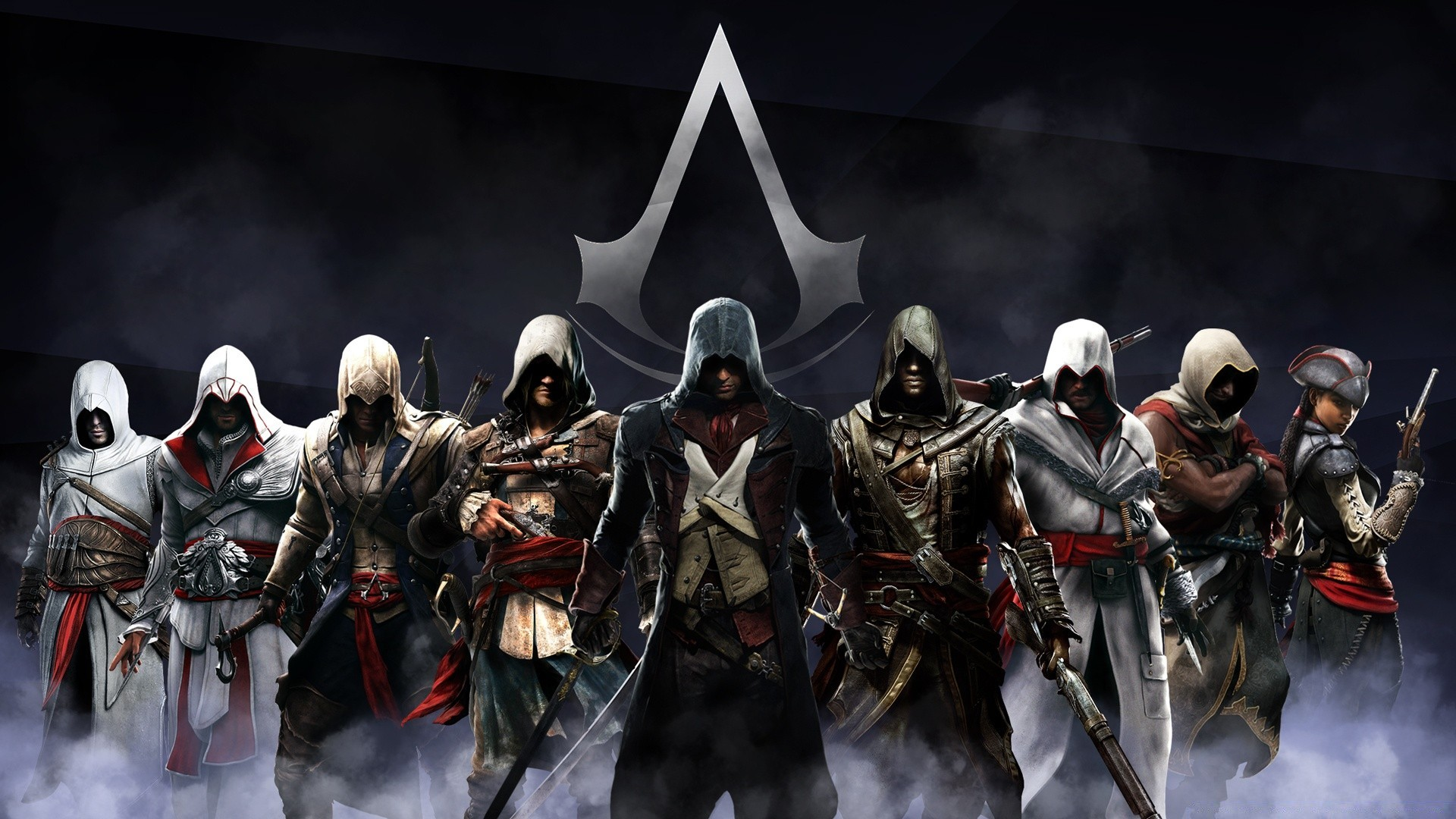 Assassins Creed работа Full HD
