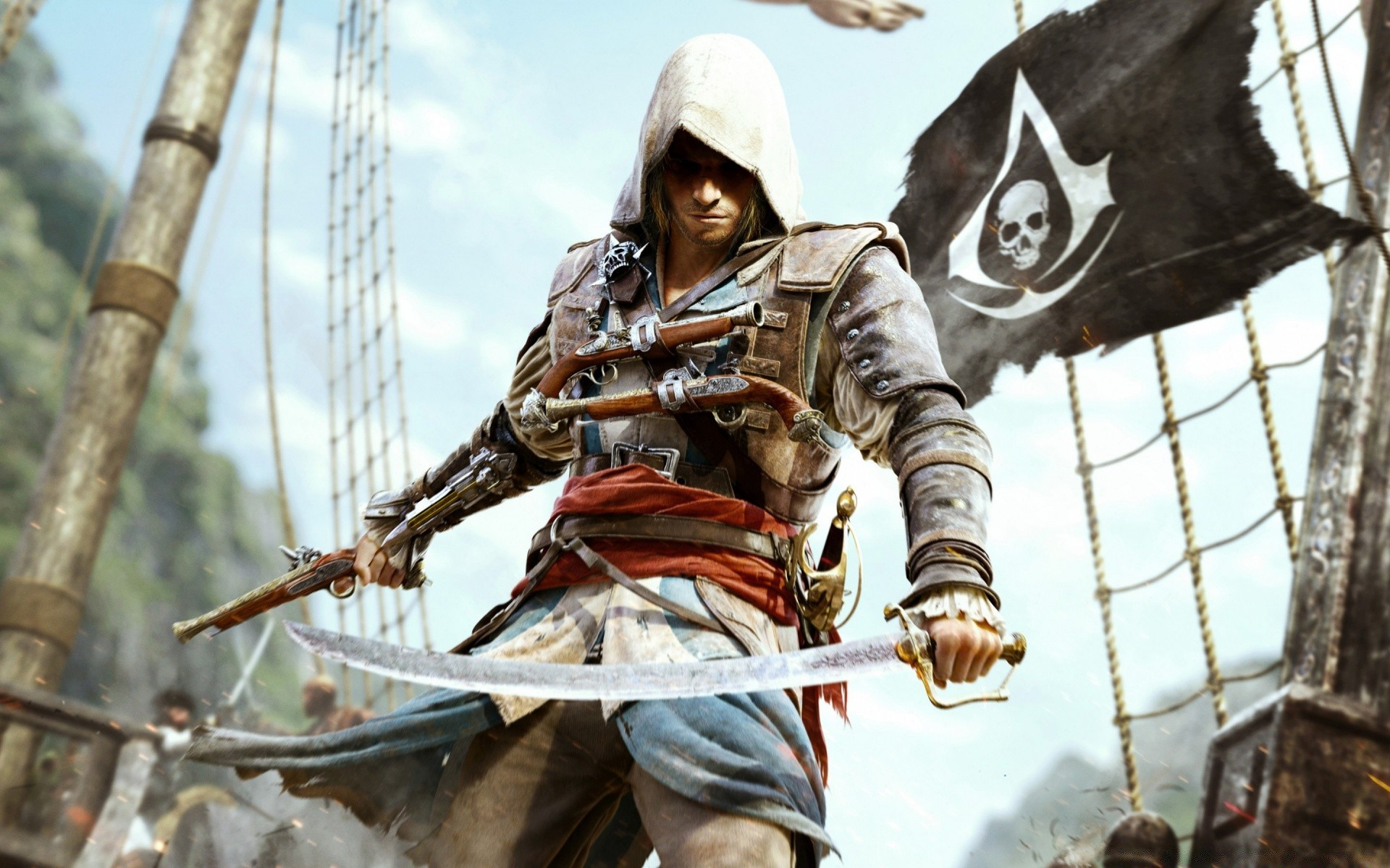 Assassins Creed IV черный флаг