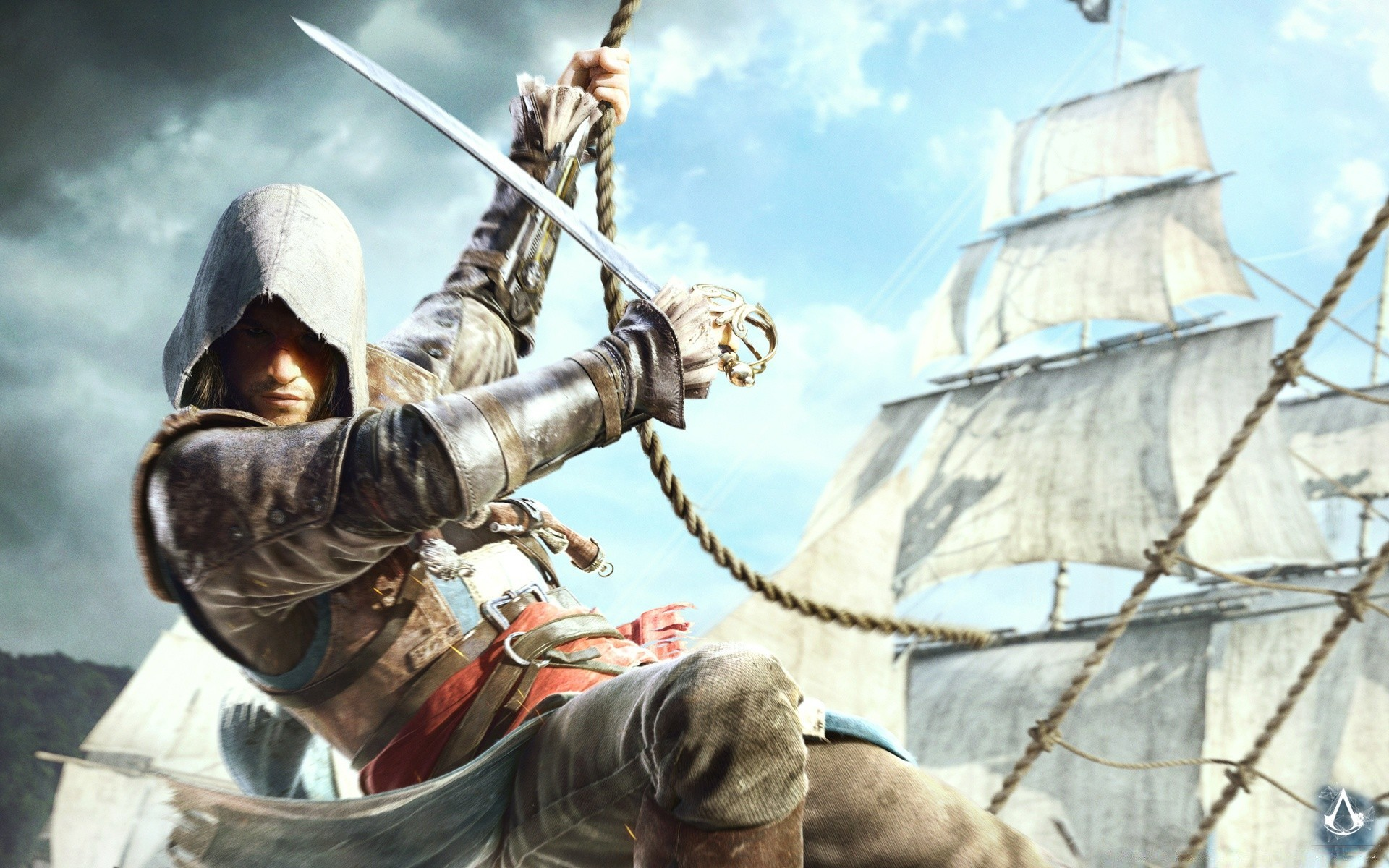 Assassins Creed IV черный флаг Эдвард kenway