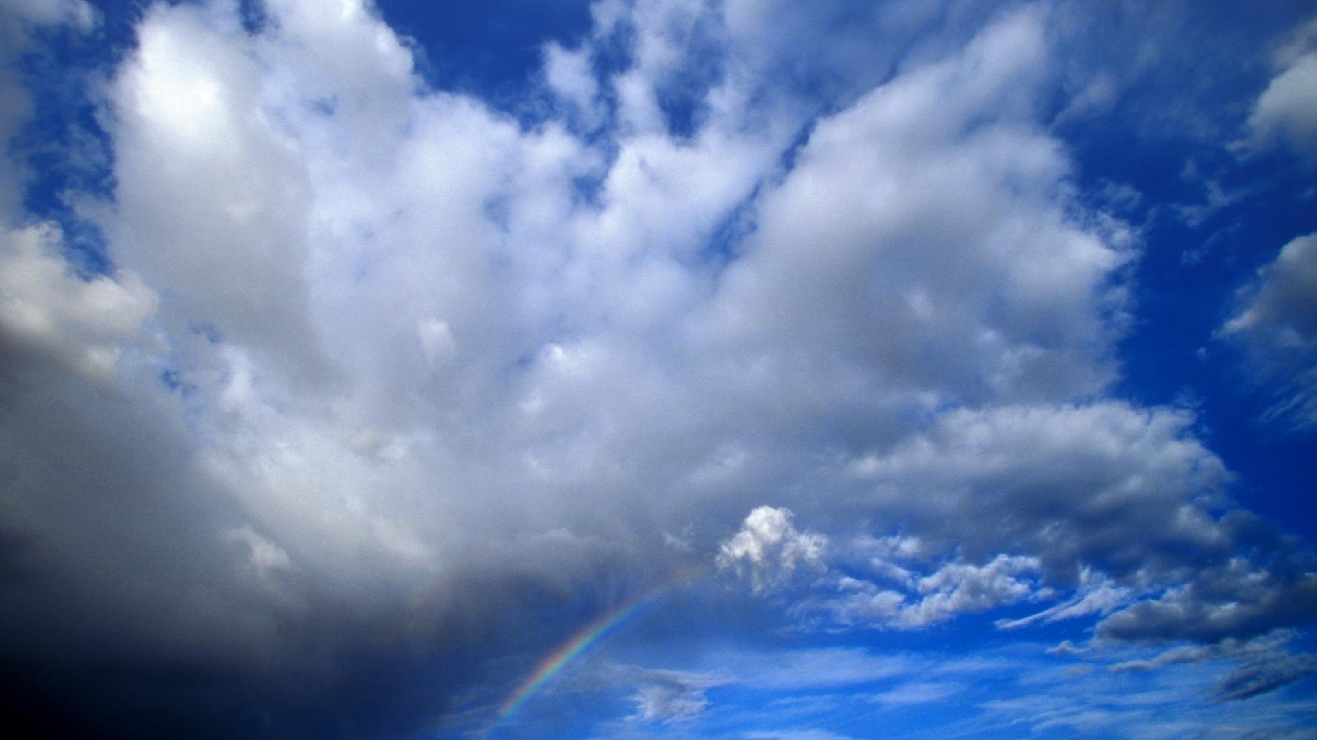 Облака в голубом небе  № 1665958 загрузить
