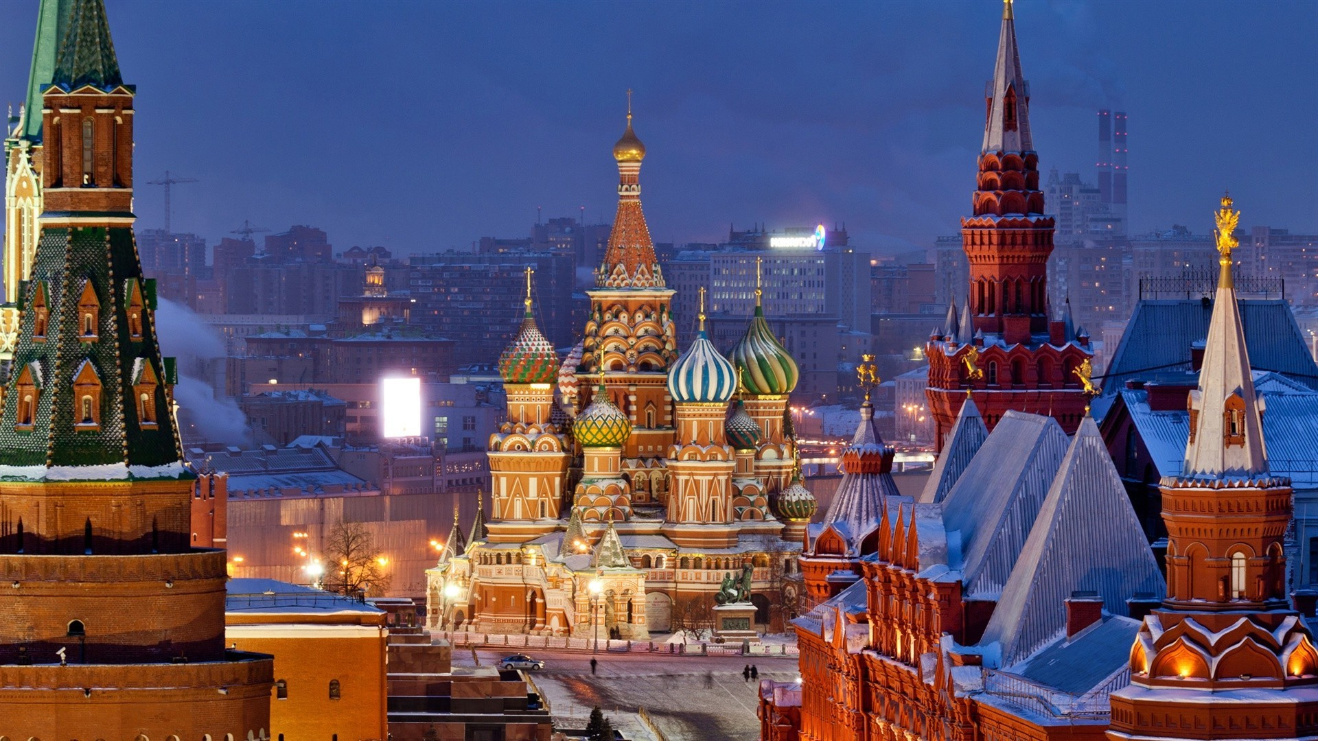 Обои храм василия блаженного, россия, moscow, мск. Города foto 14