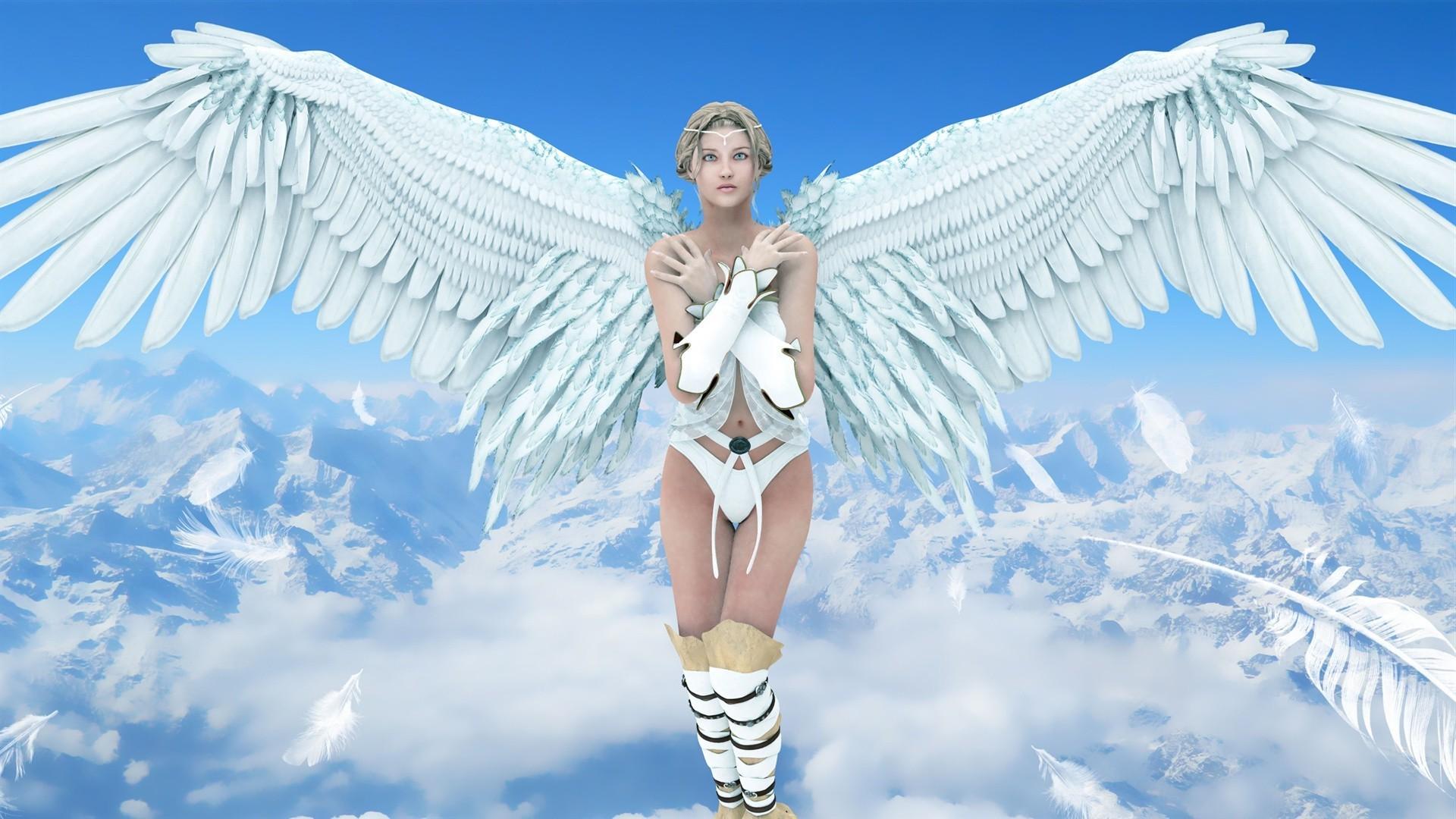 фото ангелов на телефон одной или