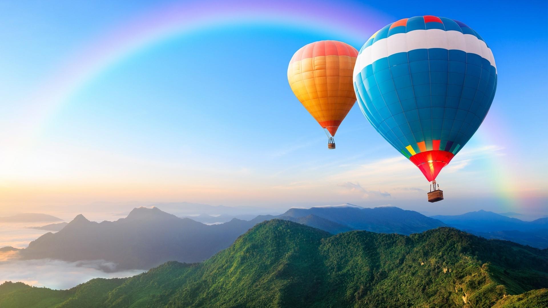 Красивые картинки на рабочий стол воздушные шары