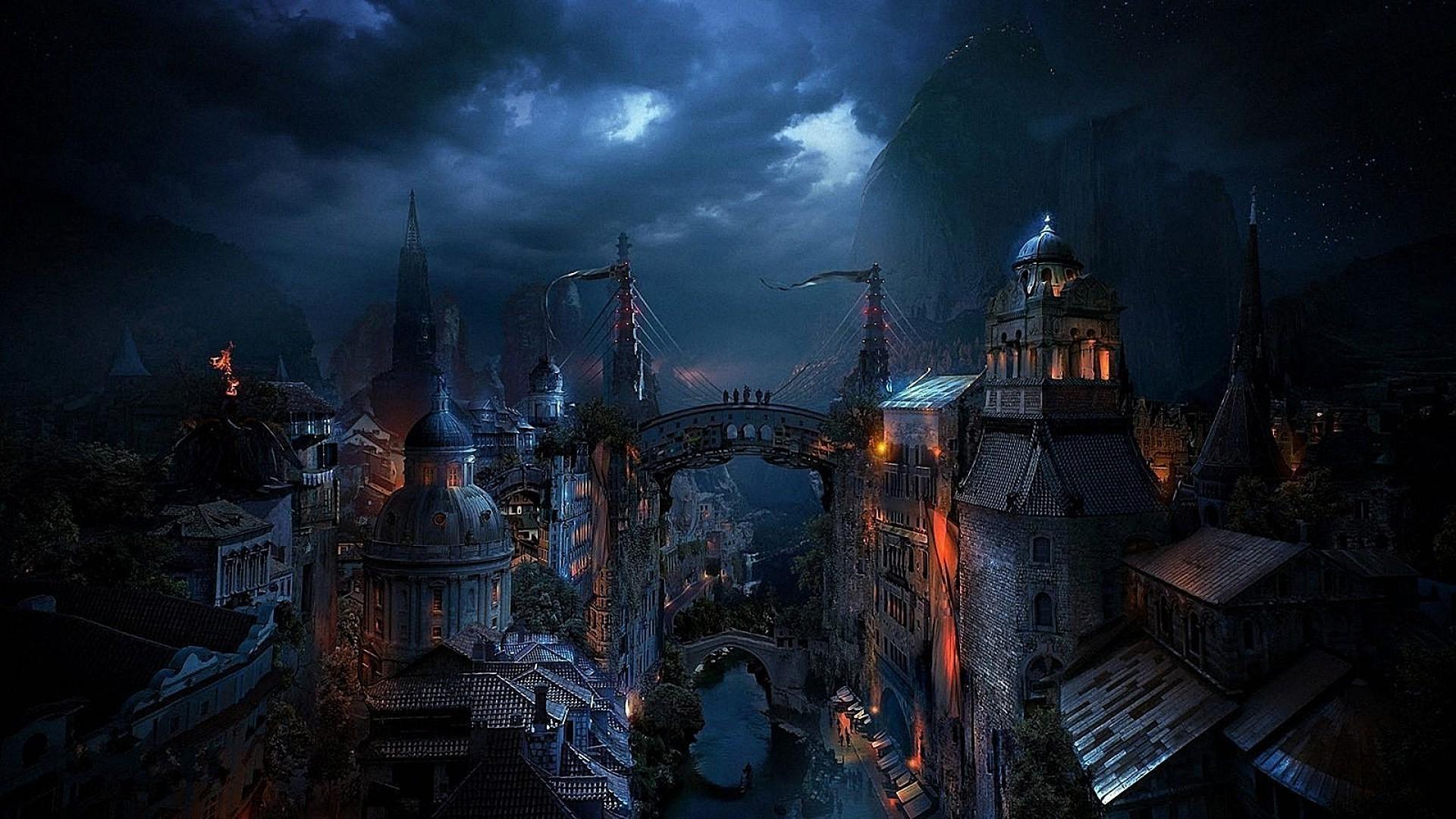 перебоев средневековый замок ночью картинки светлой кожей стоит