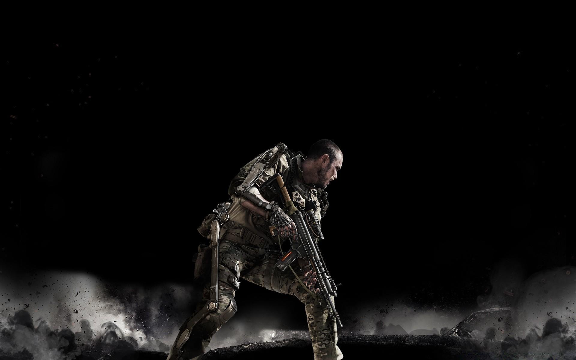 мужчина оружие игра Call of Duty Advanced Warfare без смс