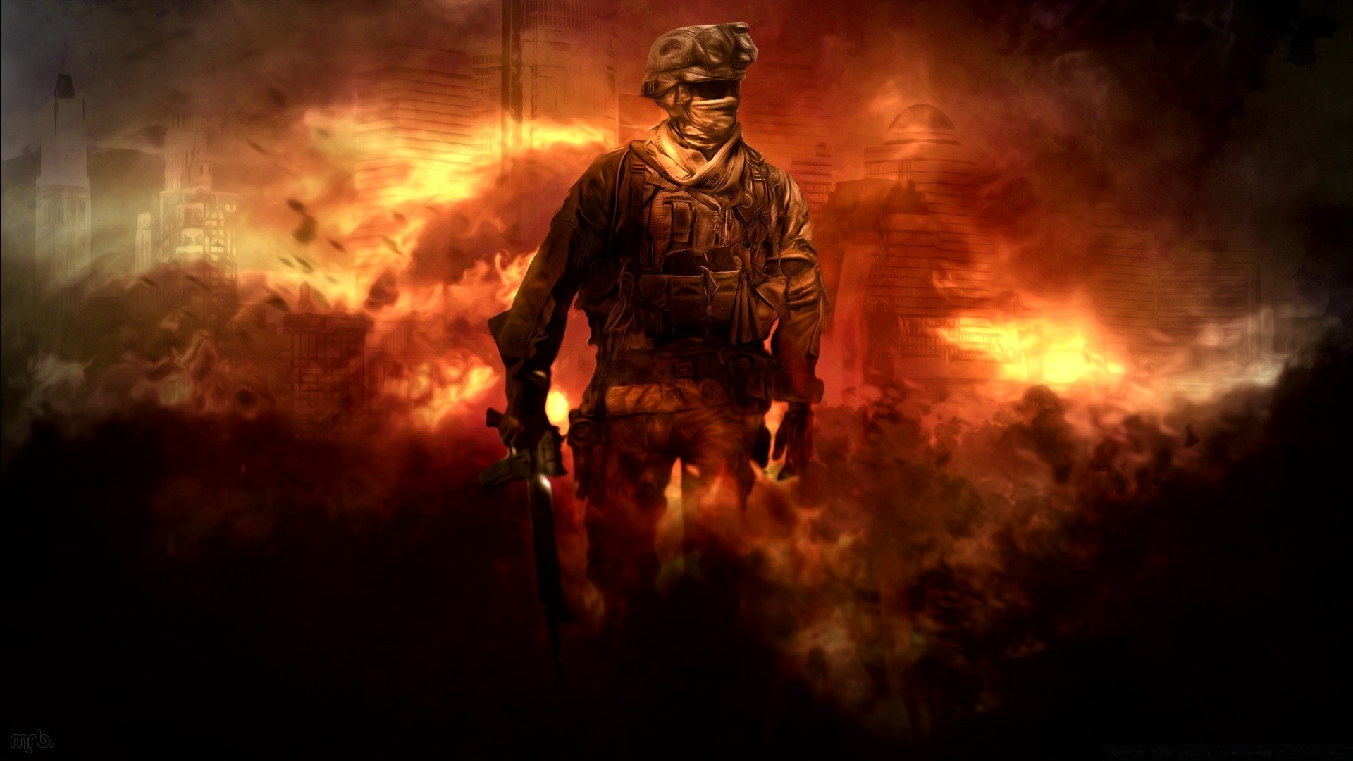 Зов долга Modern Warfare 2 HD