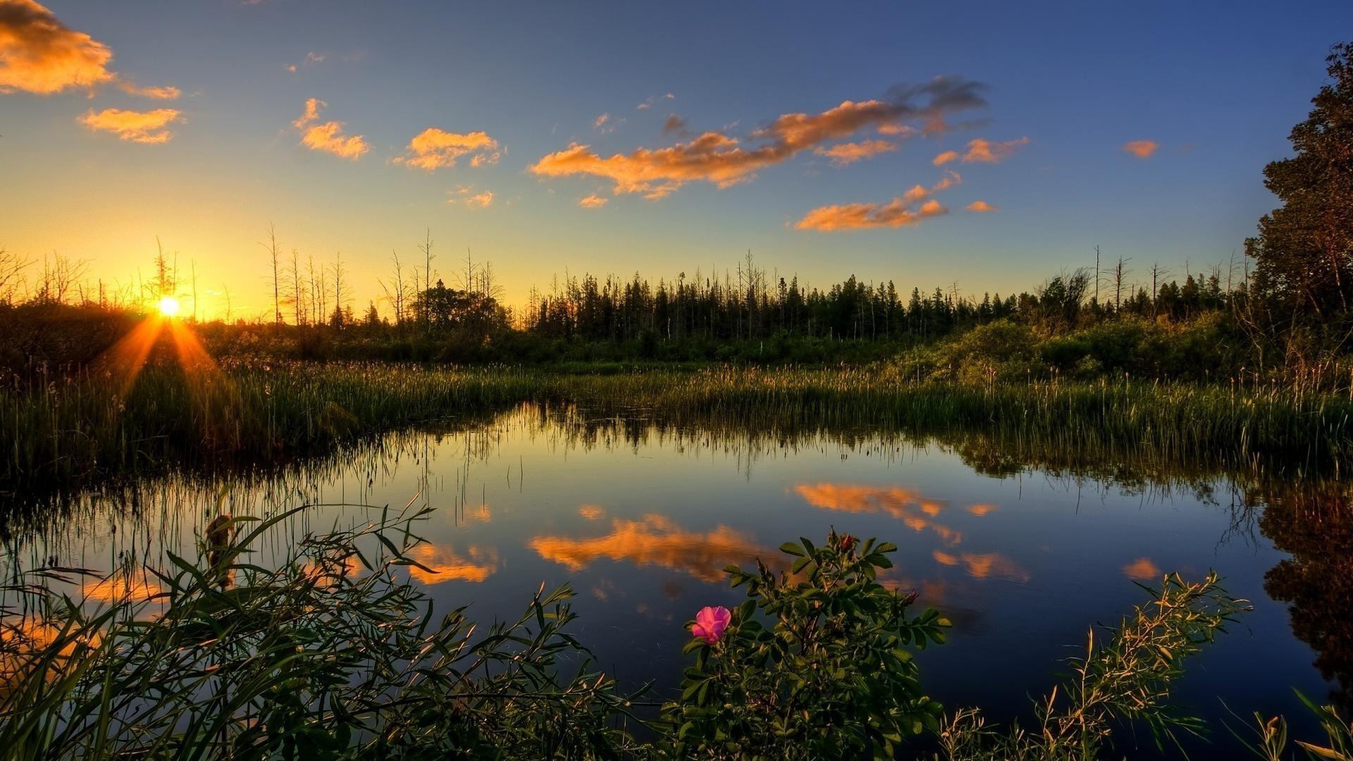 Картинки природа закат красивые
