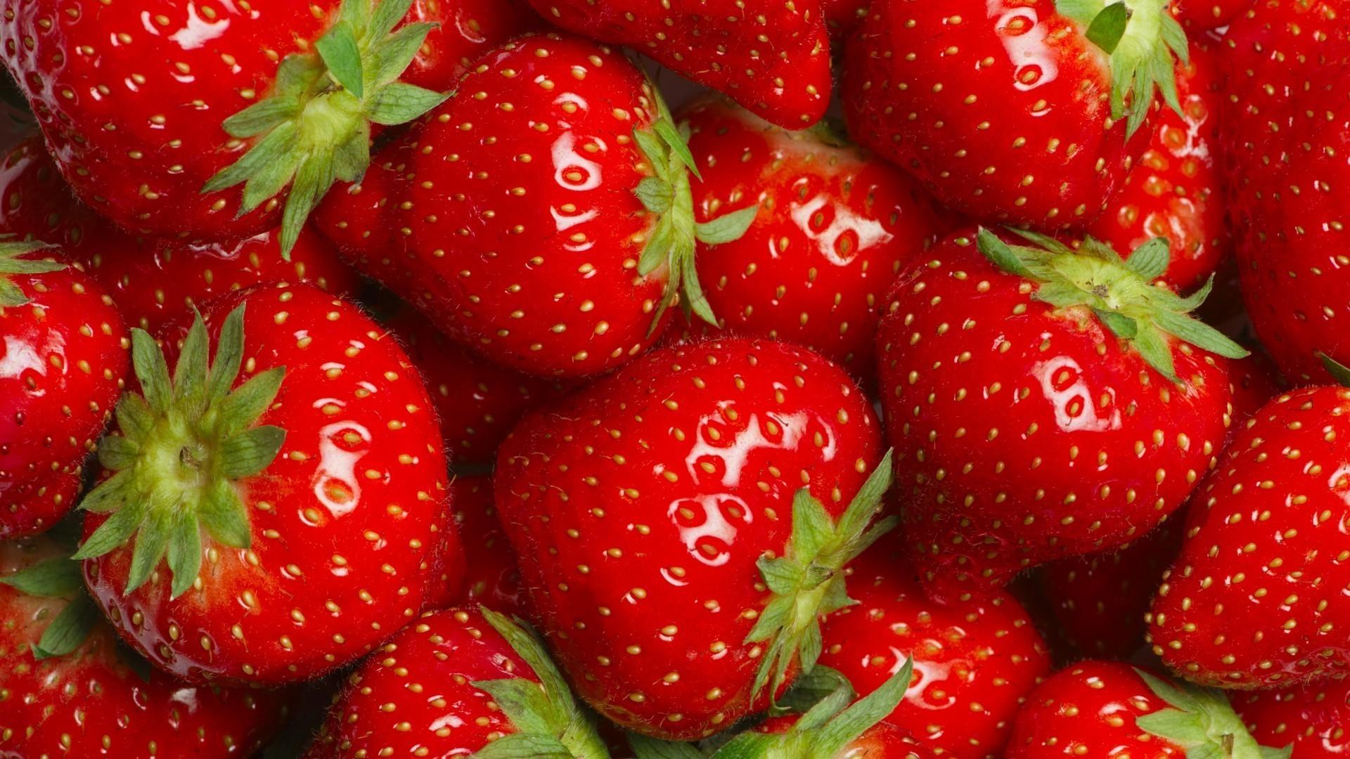 Обои ягода, клубника. Еда foto 16