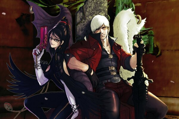 Bayonetta против Devil May Cry