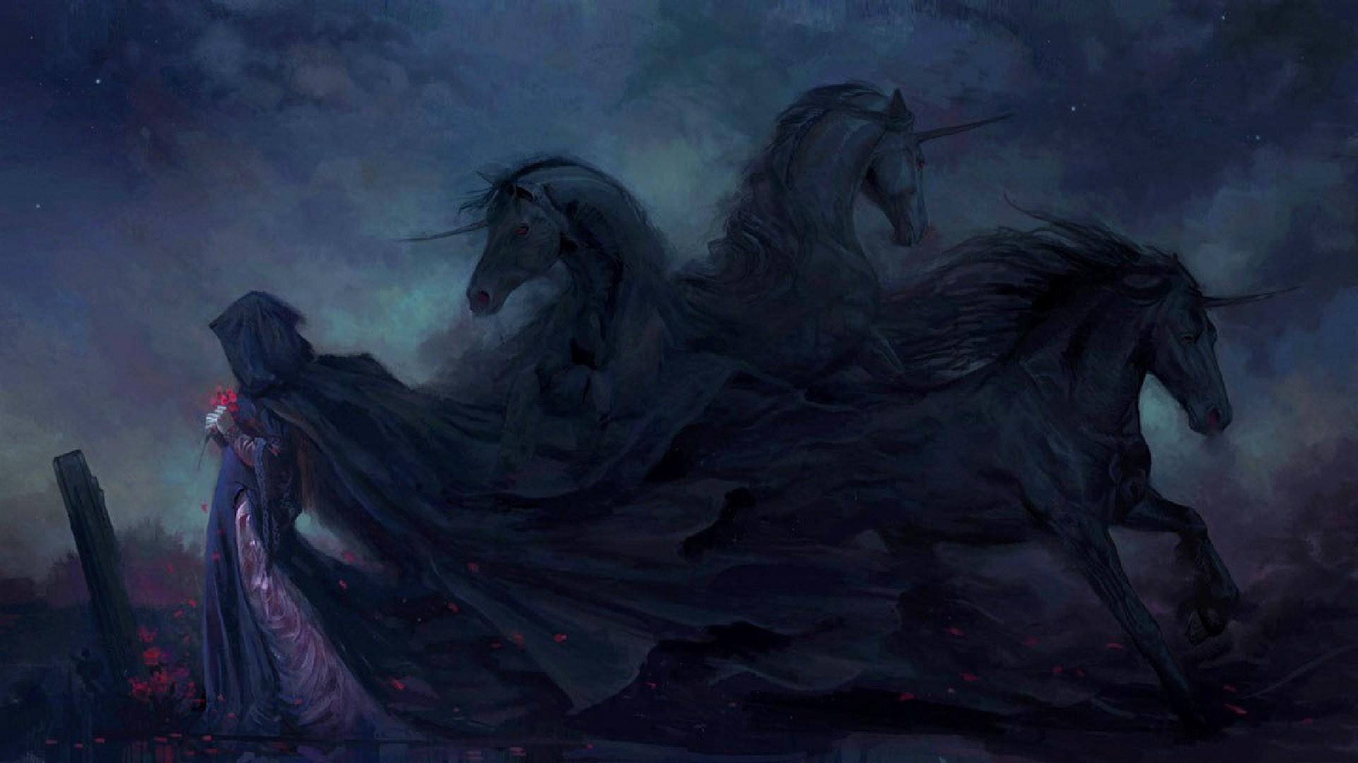 Дракон с единорогом без смс