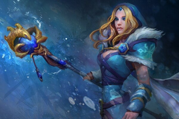 Crystal Maiden DOTA 2