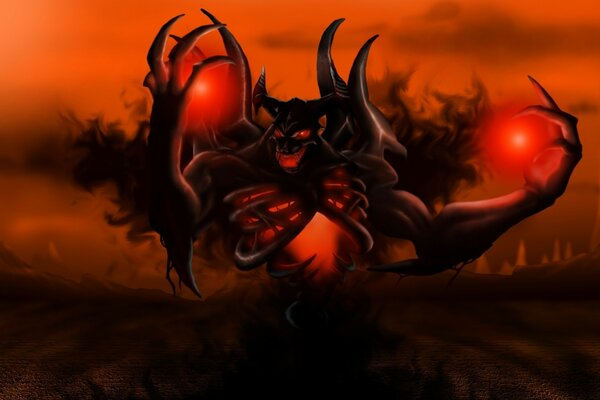 Shadow Fiend DOTA 2