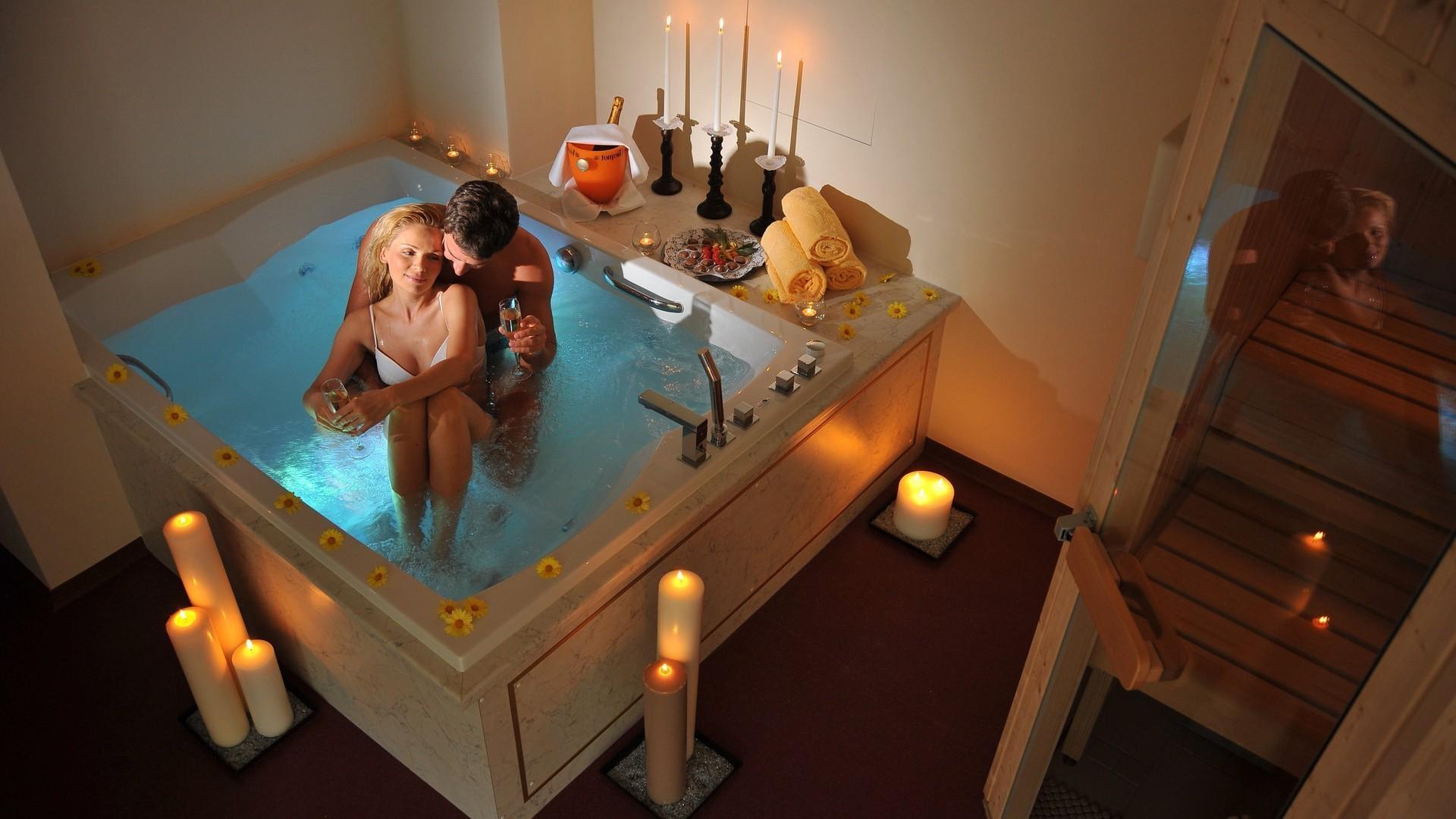 Секс видео дома в ванной 234