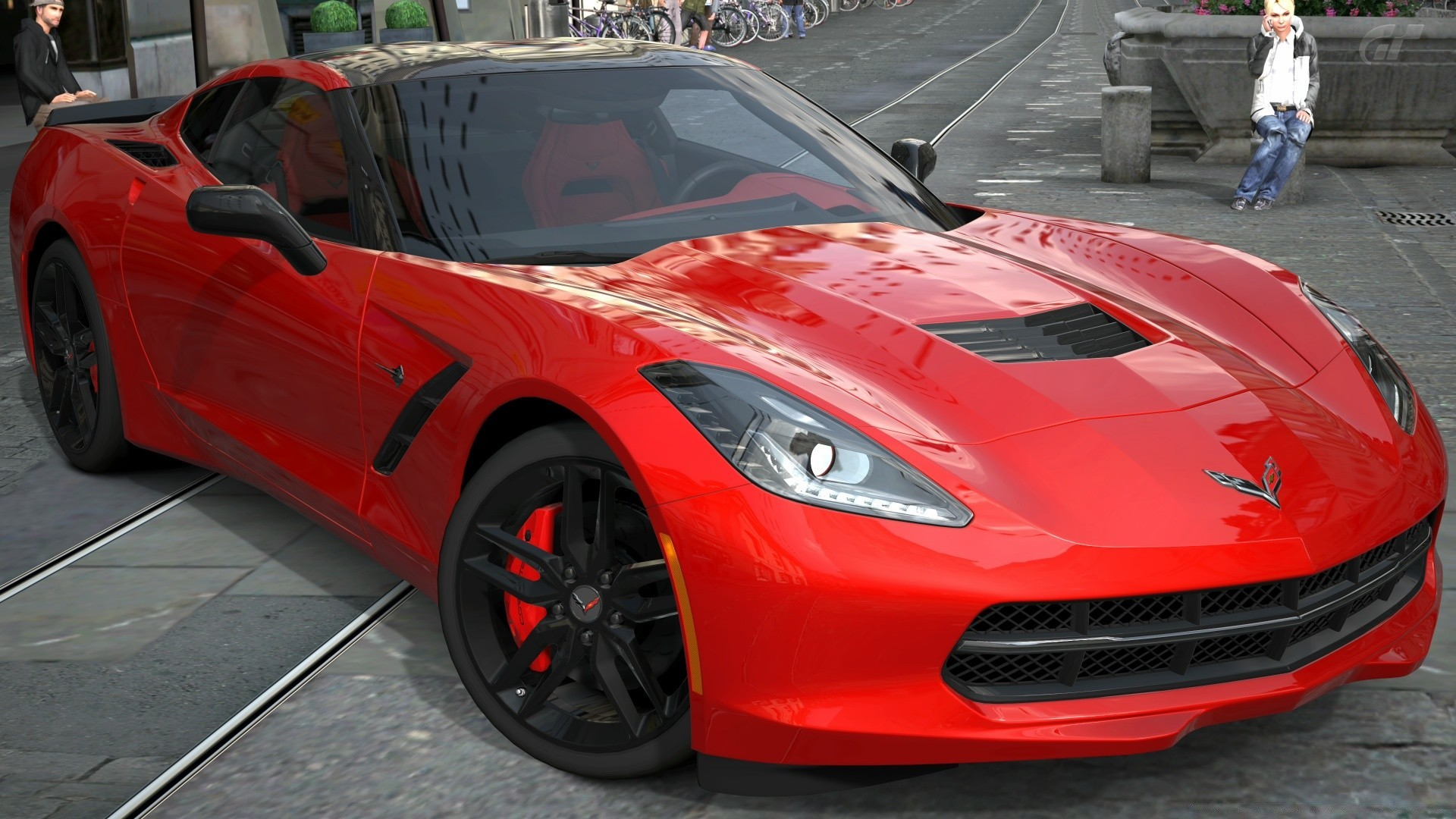 Corvette Stingray 2014 с7