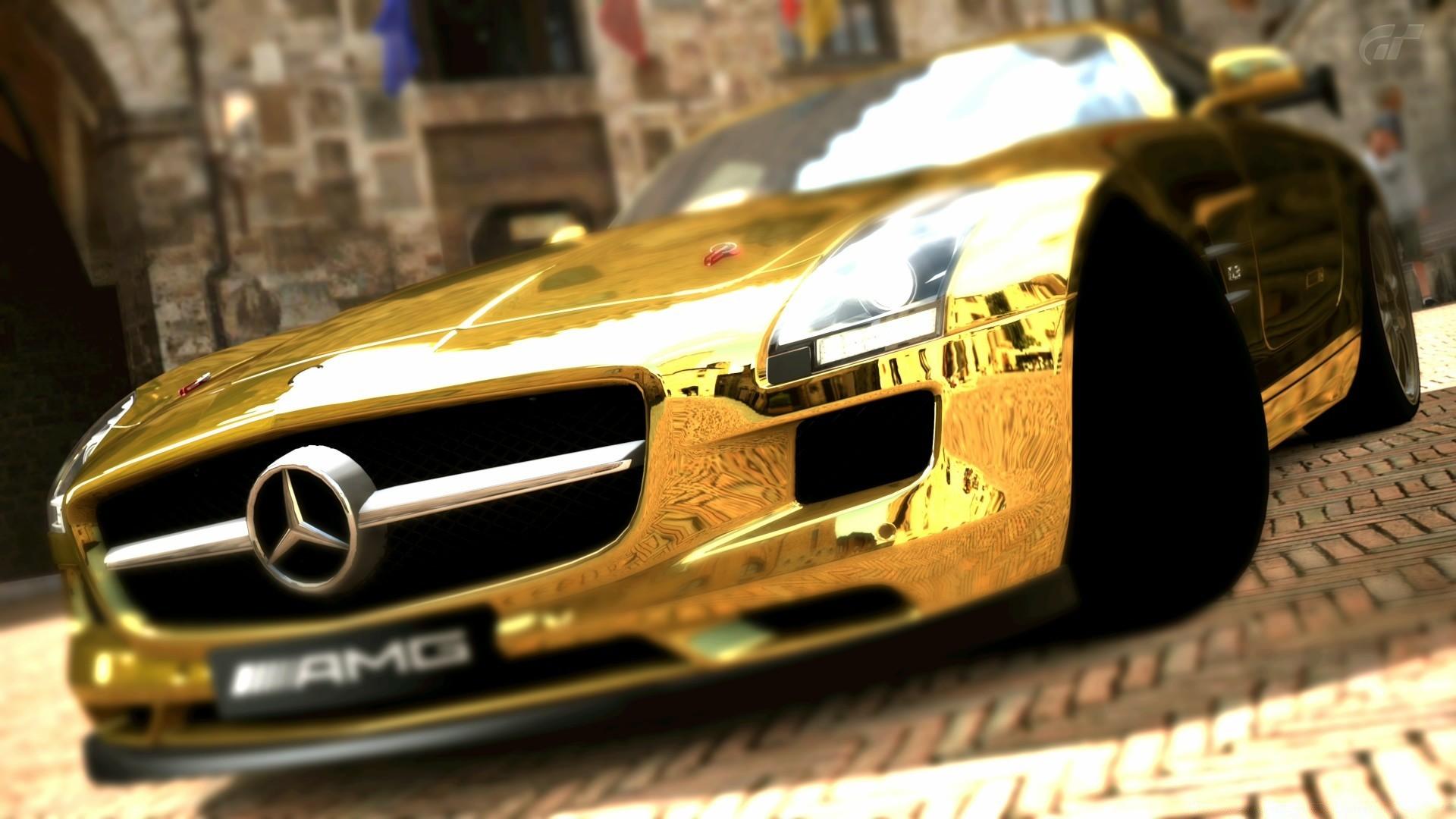 золотистый автомобиль загрузить
