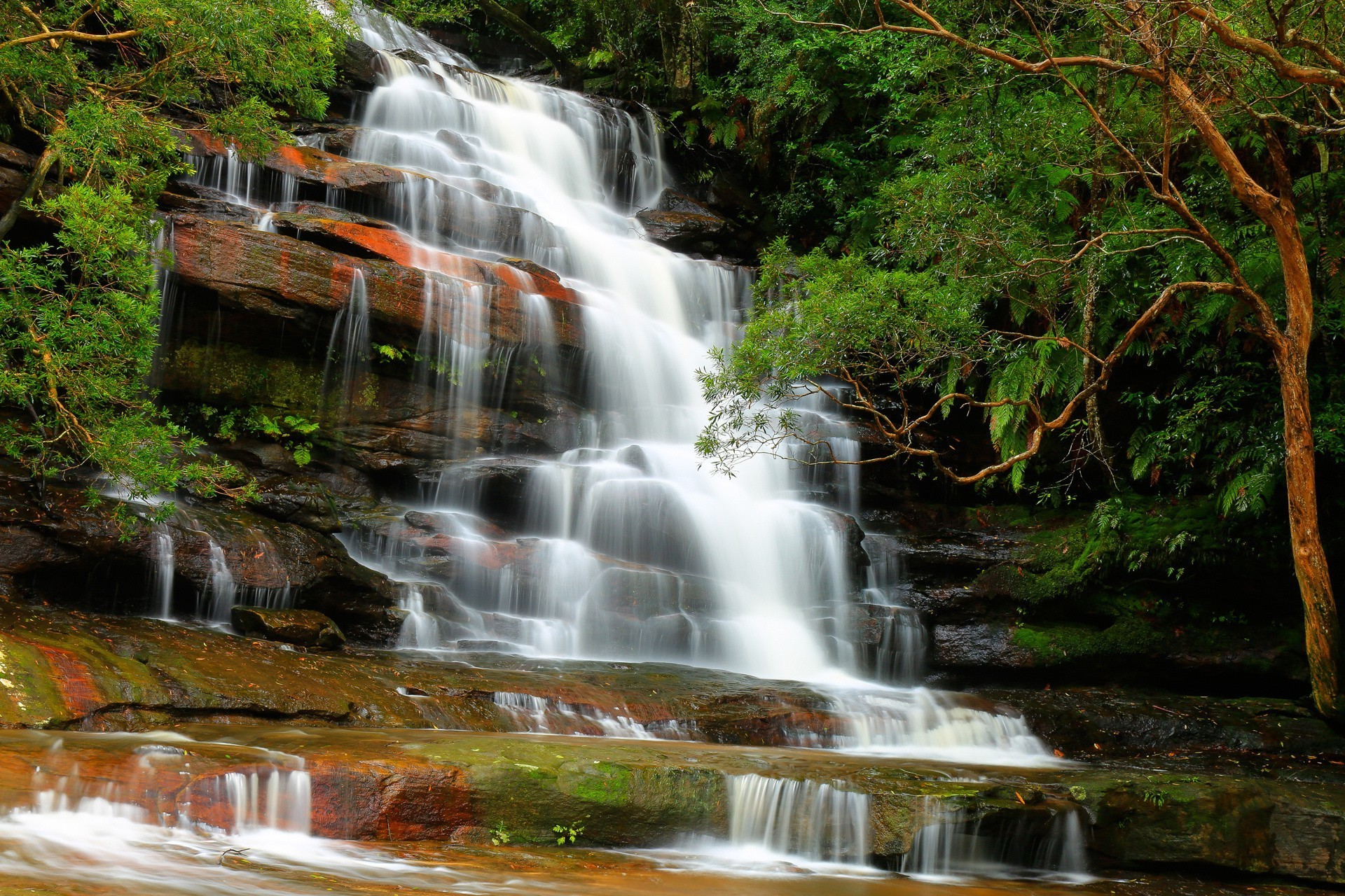 Картинки для рабочего стола природа водопады