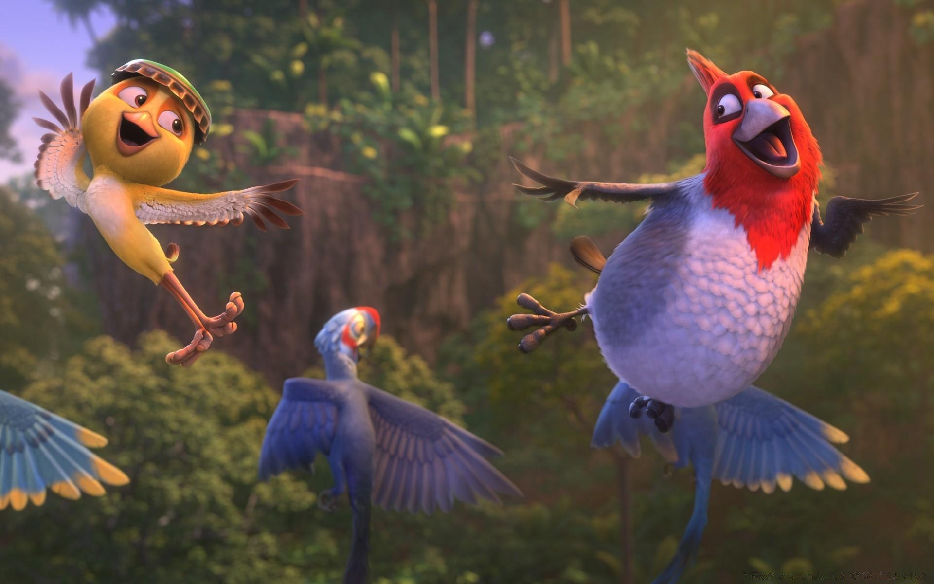 лобода картинки из рио все птицы очень