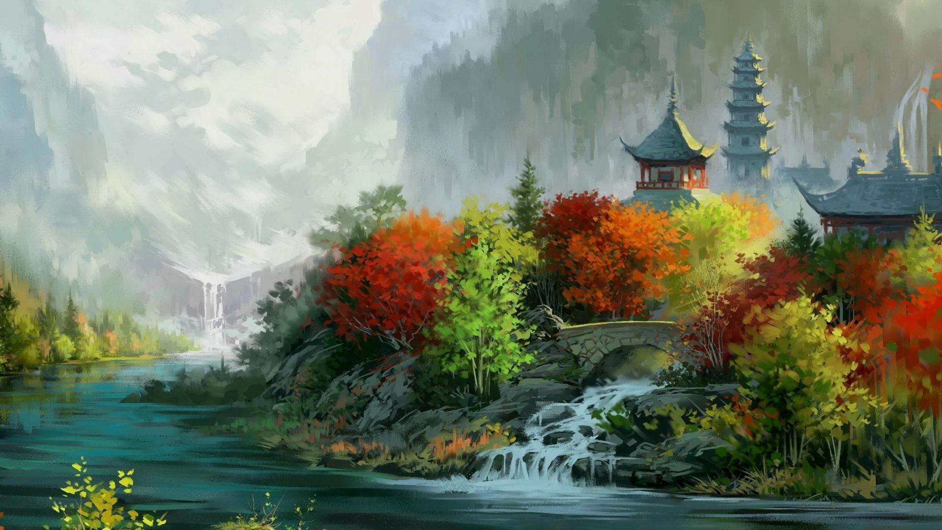 кадрах видно, красивые картинки с изображением пейзажа мероприятия