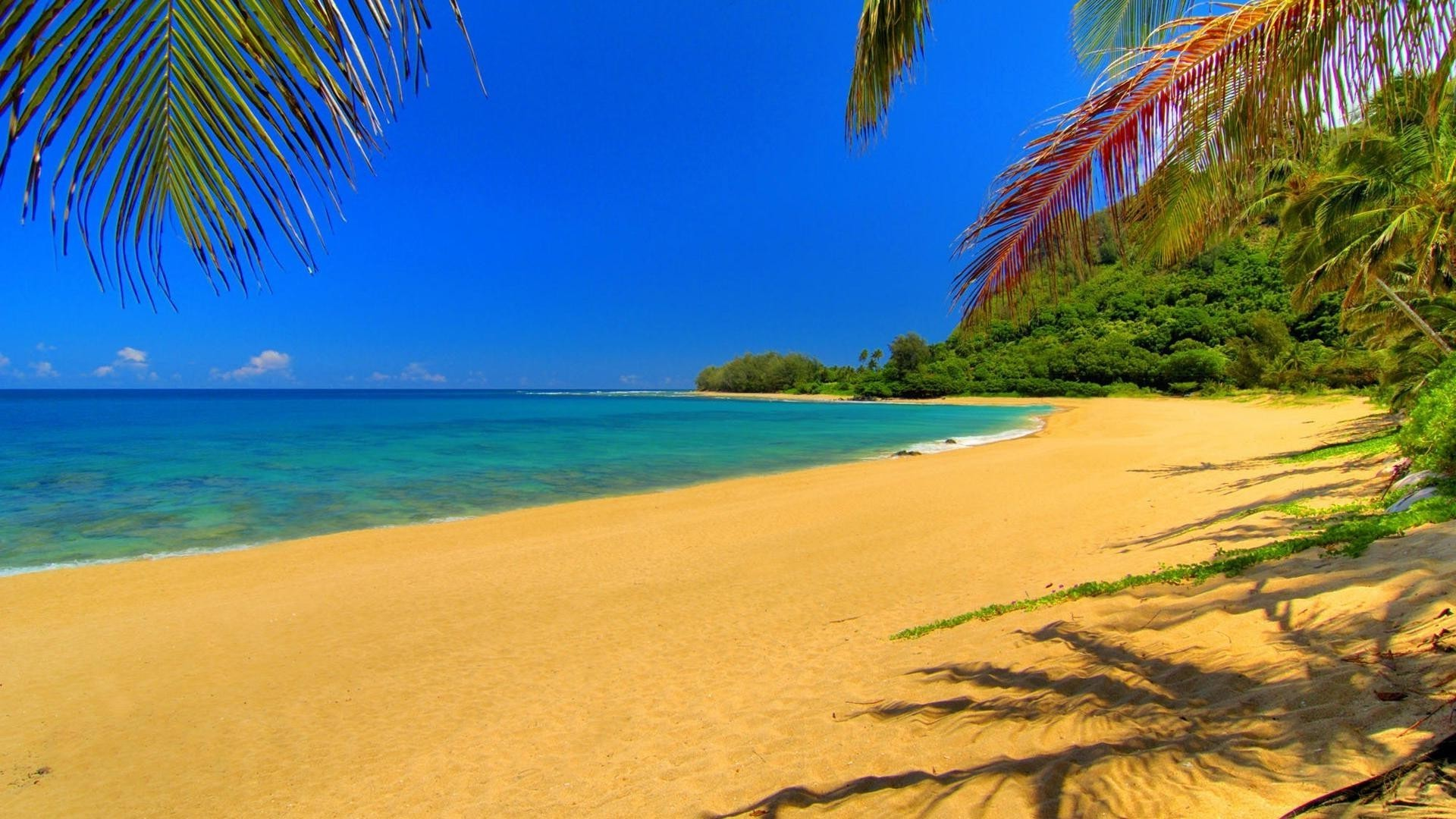 Обои для рабочего стола пляж курорты