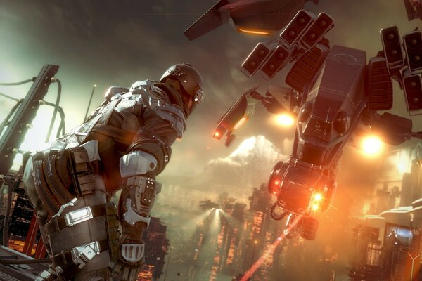Killzone shadowfall - PS4